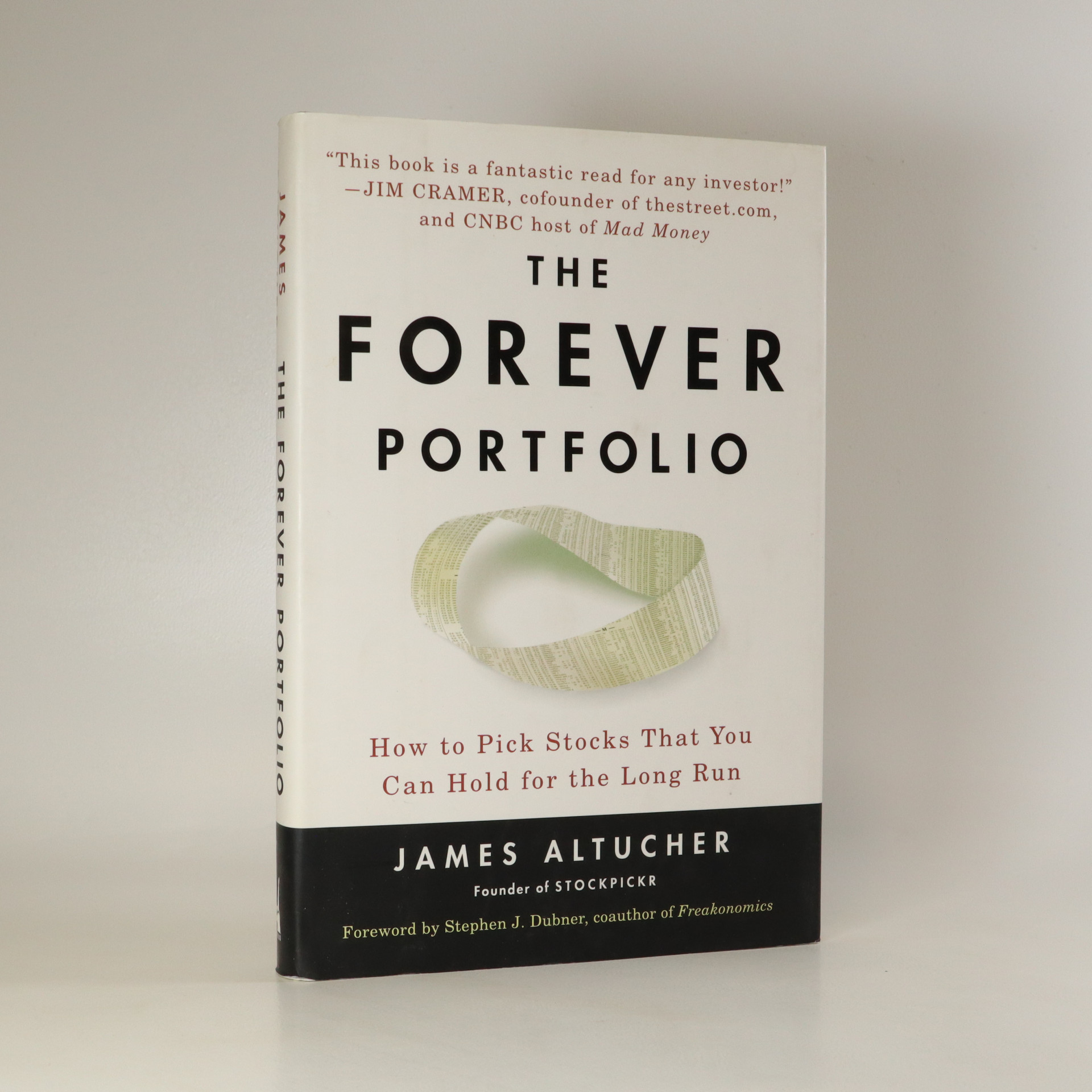 antikvární kniha The Forever Portfolio. How to Pick Stocks That You Can Hold for the Long Run, 2008