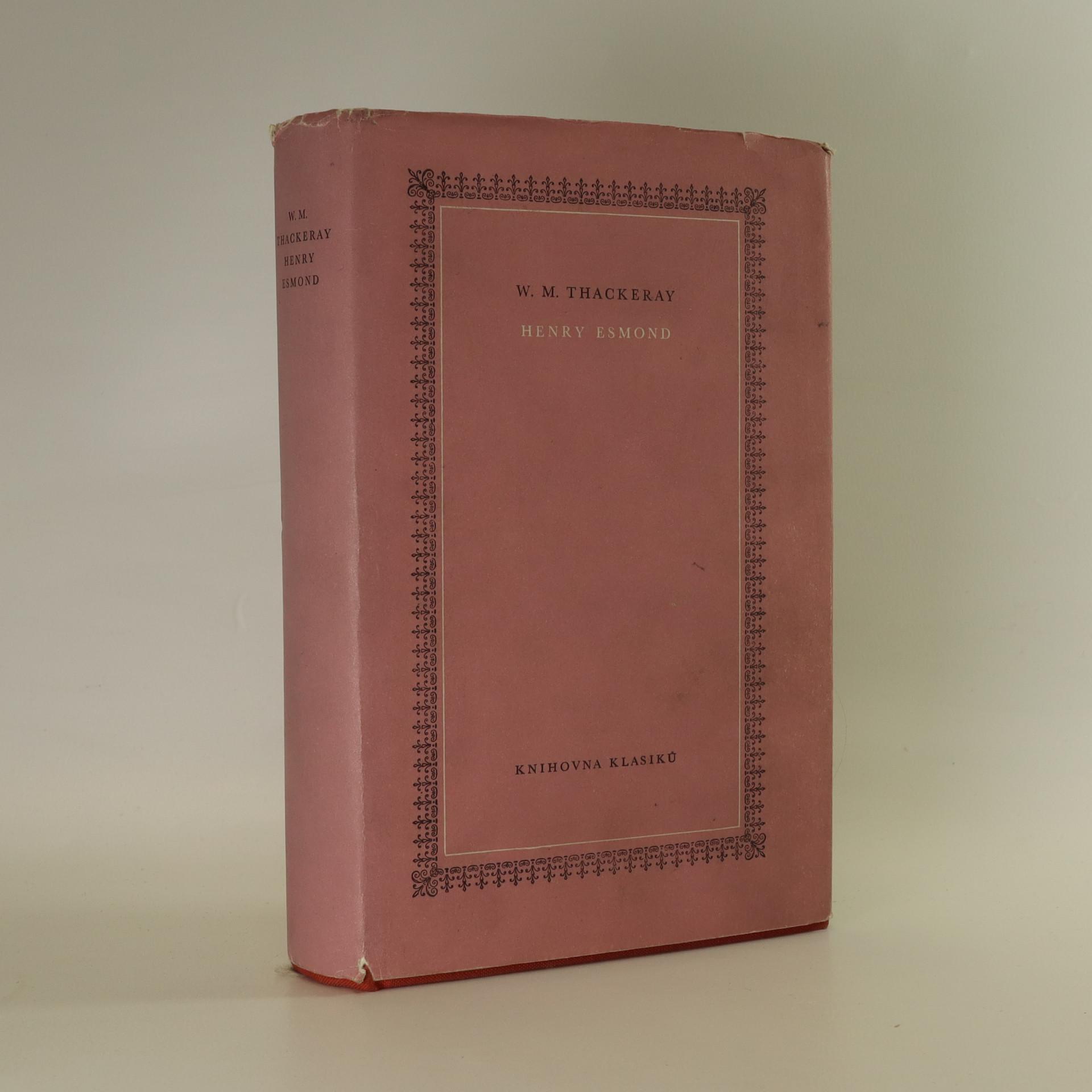 antikvární kniha Henry Esmond, 1963