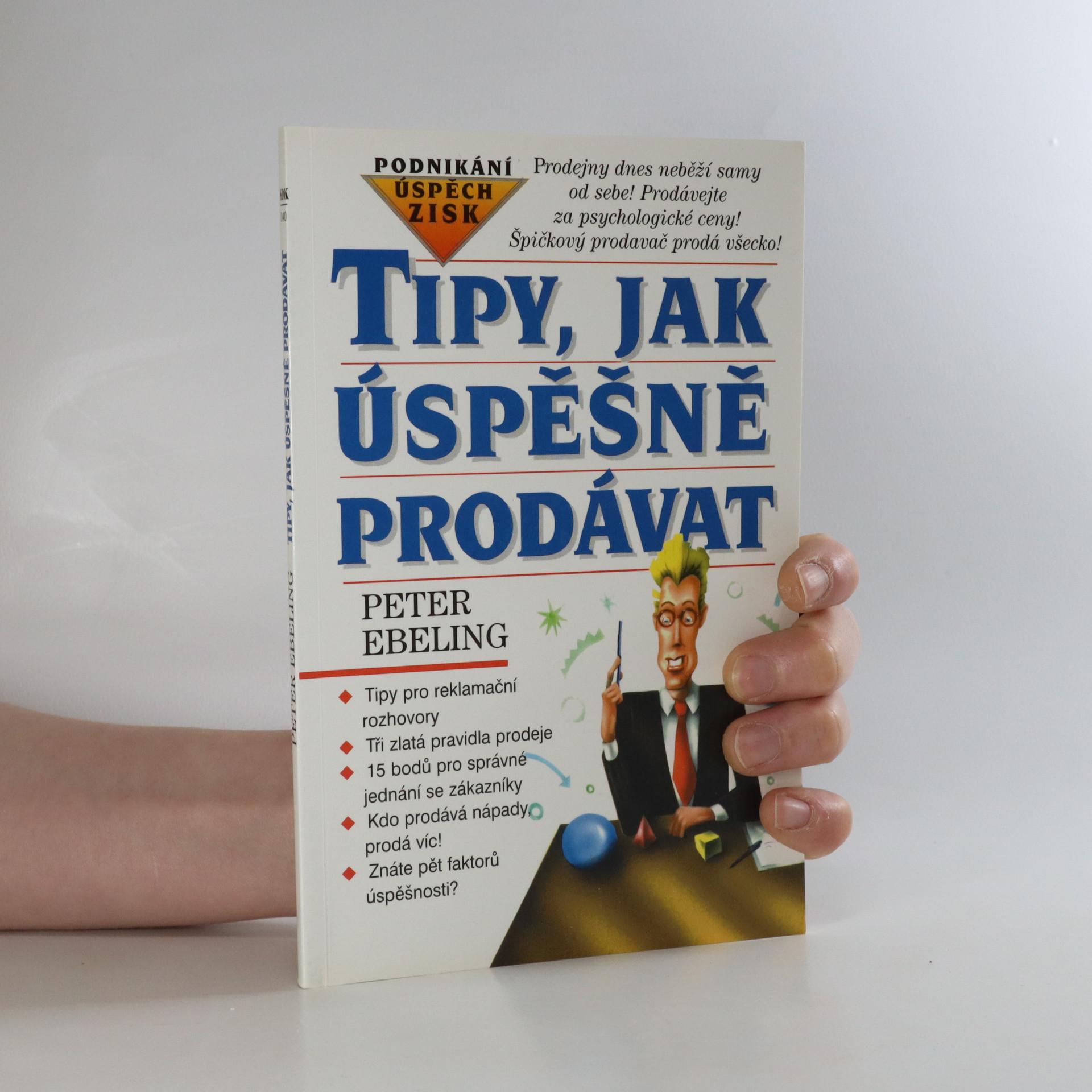 antikvární kniha Tipy, jak úspěšně prodávat, 1996
