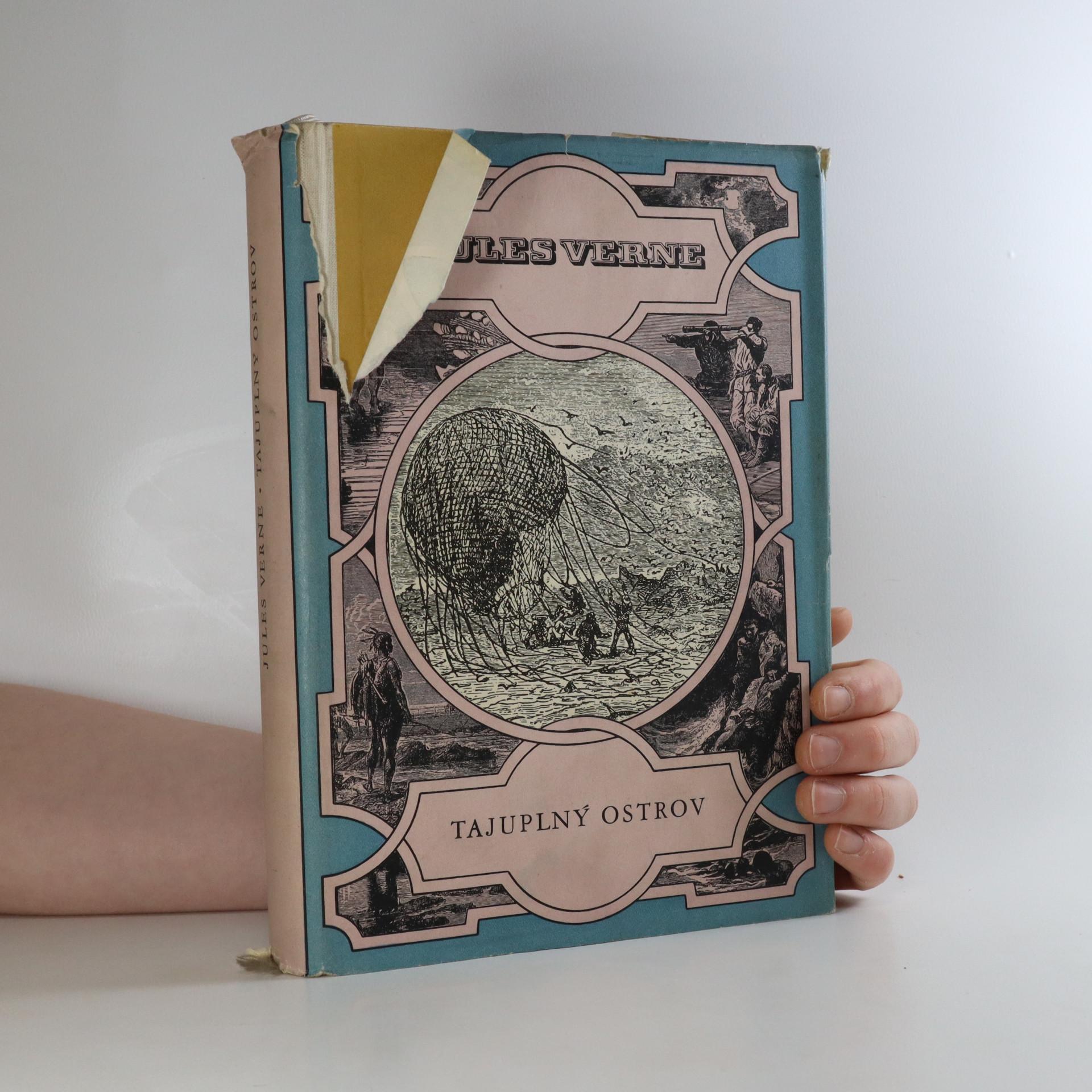 antikvární kniha Tajuplný ostrov, 1957