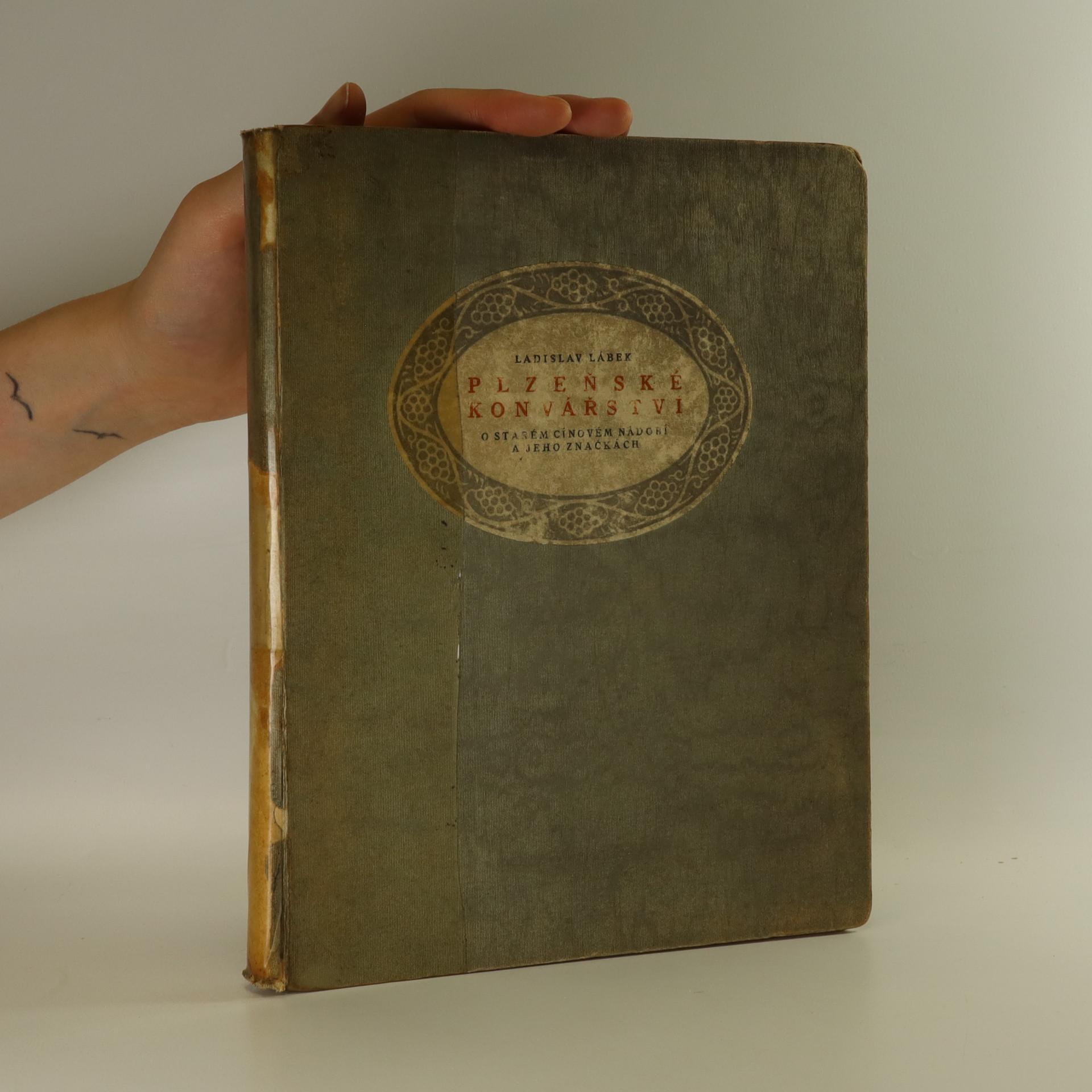 antikvární kniha Plzeňské konvářství, 1920