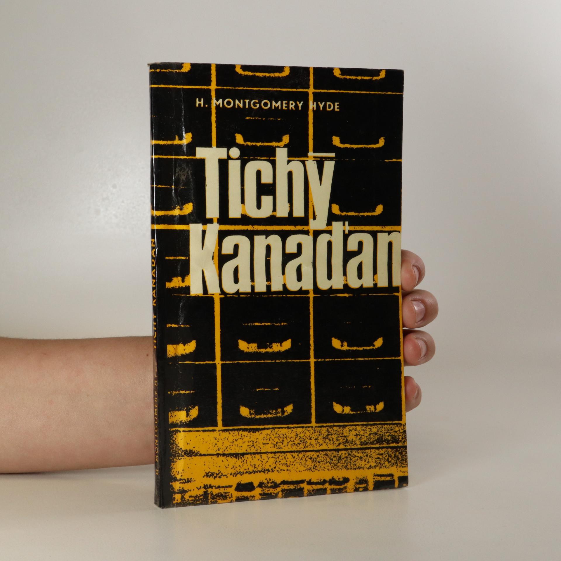 antikvární kniha Tichý Kanaďan, 1969