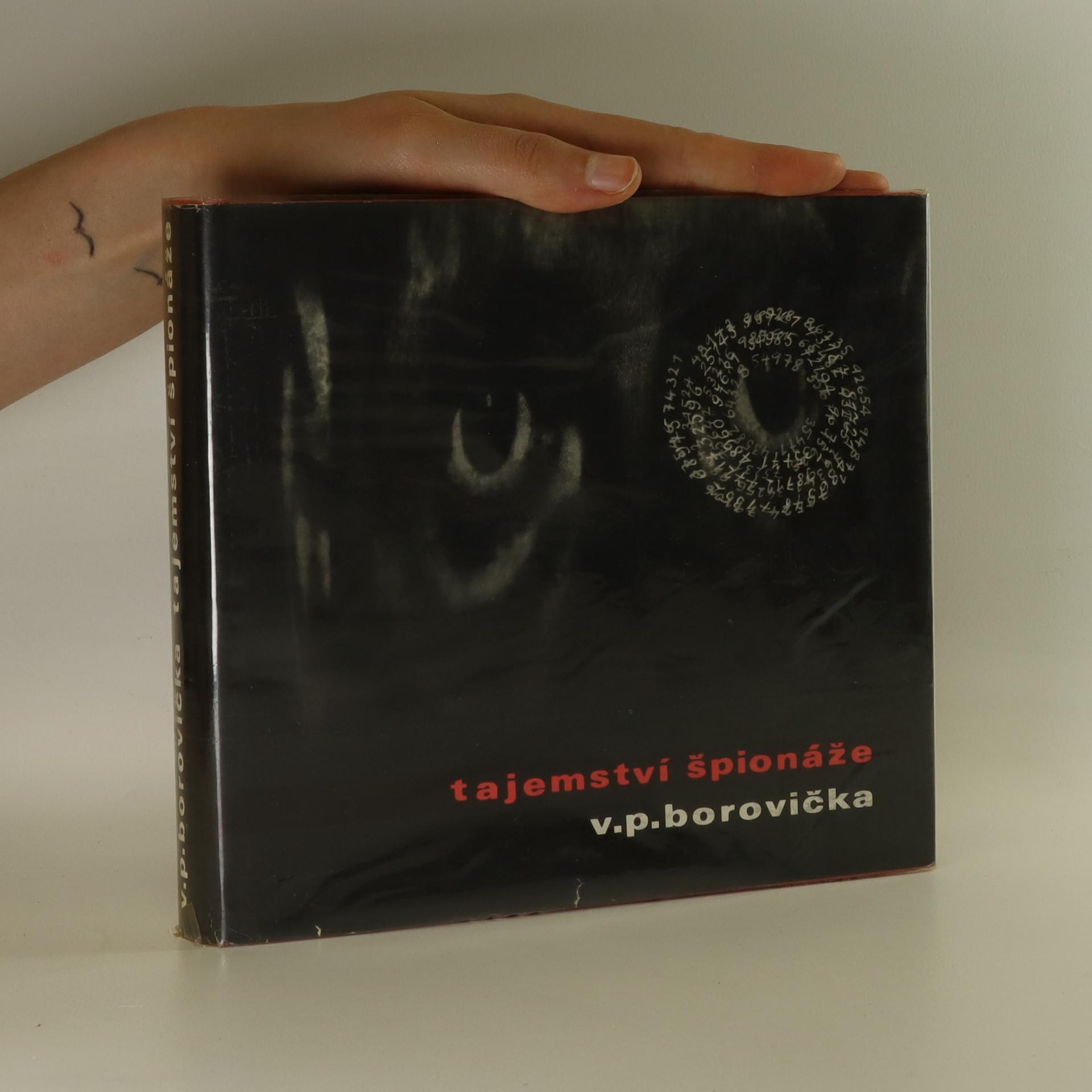 antikvární kniha Tajemství špionáže, 1969