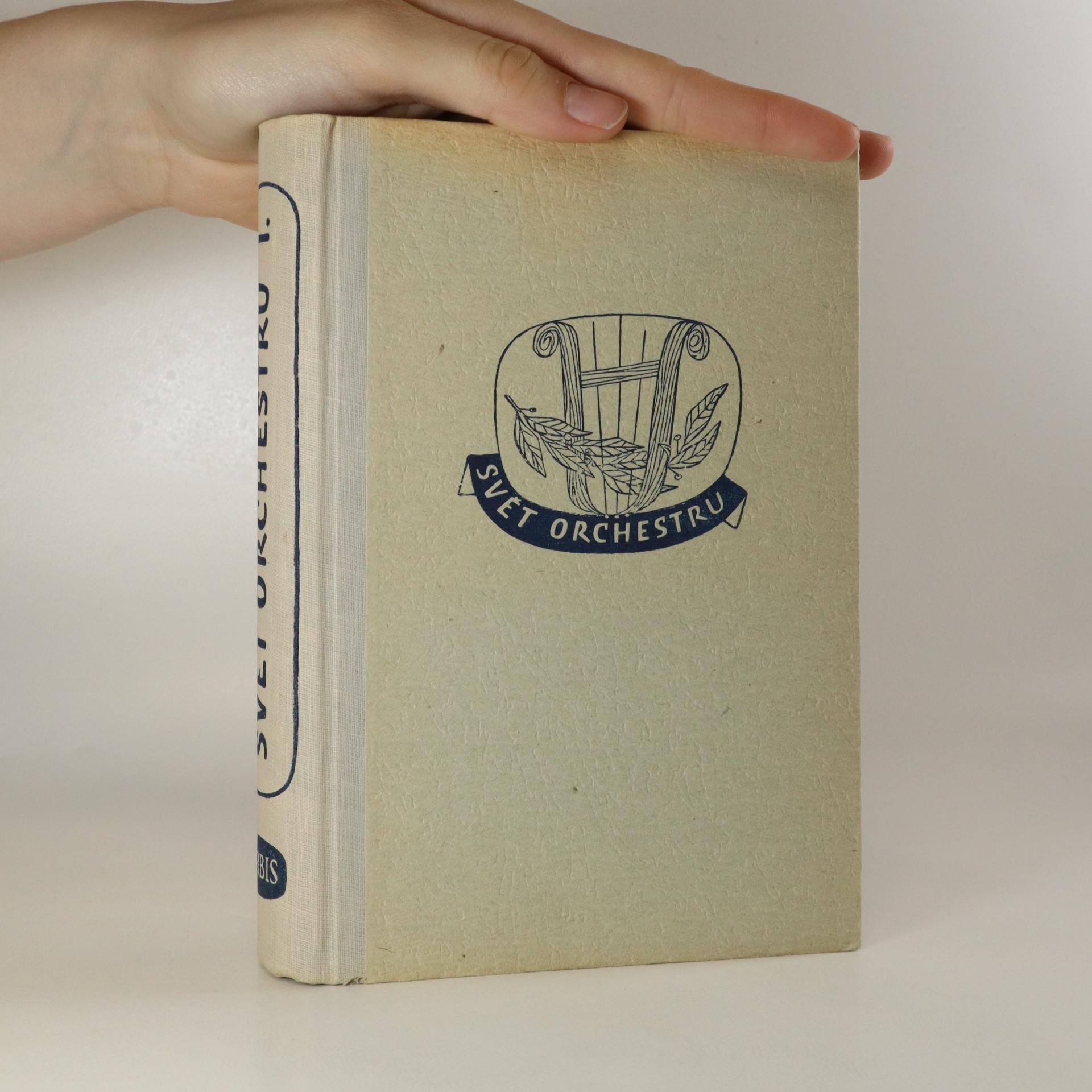 antikvární kniha Svět orchestru , 1952