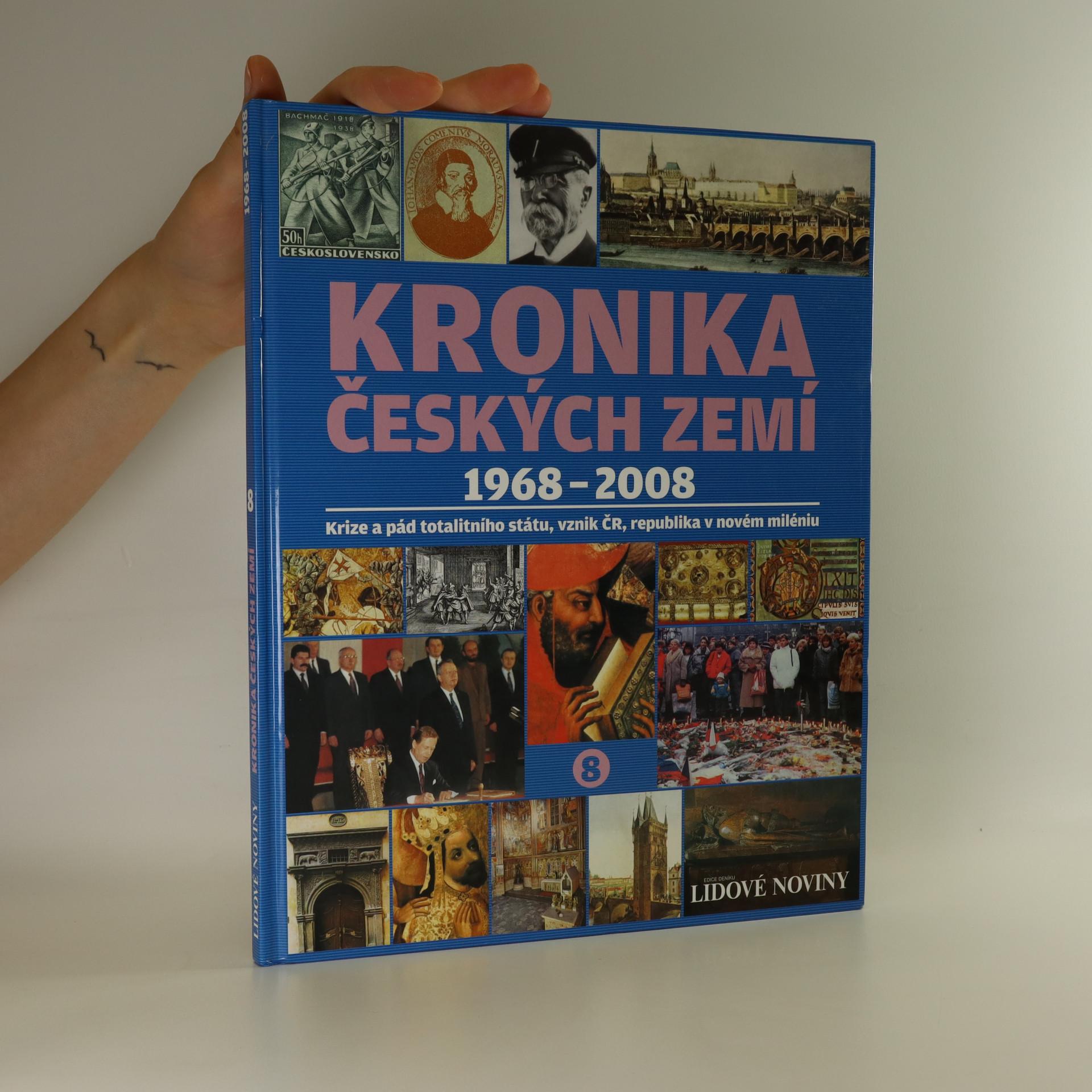 antikvární kniha Kronika Českých zemí 1968 - 2008 (kniha nemá tiráž), neuveden