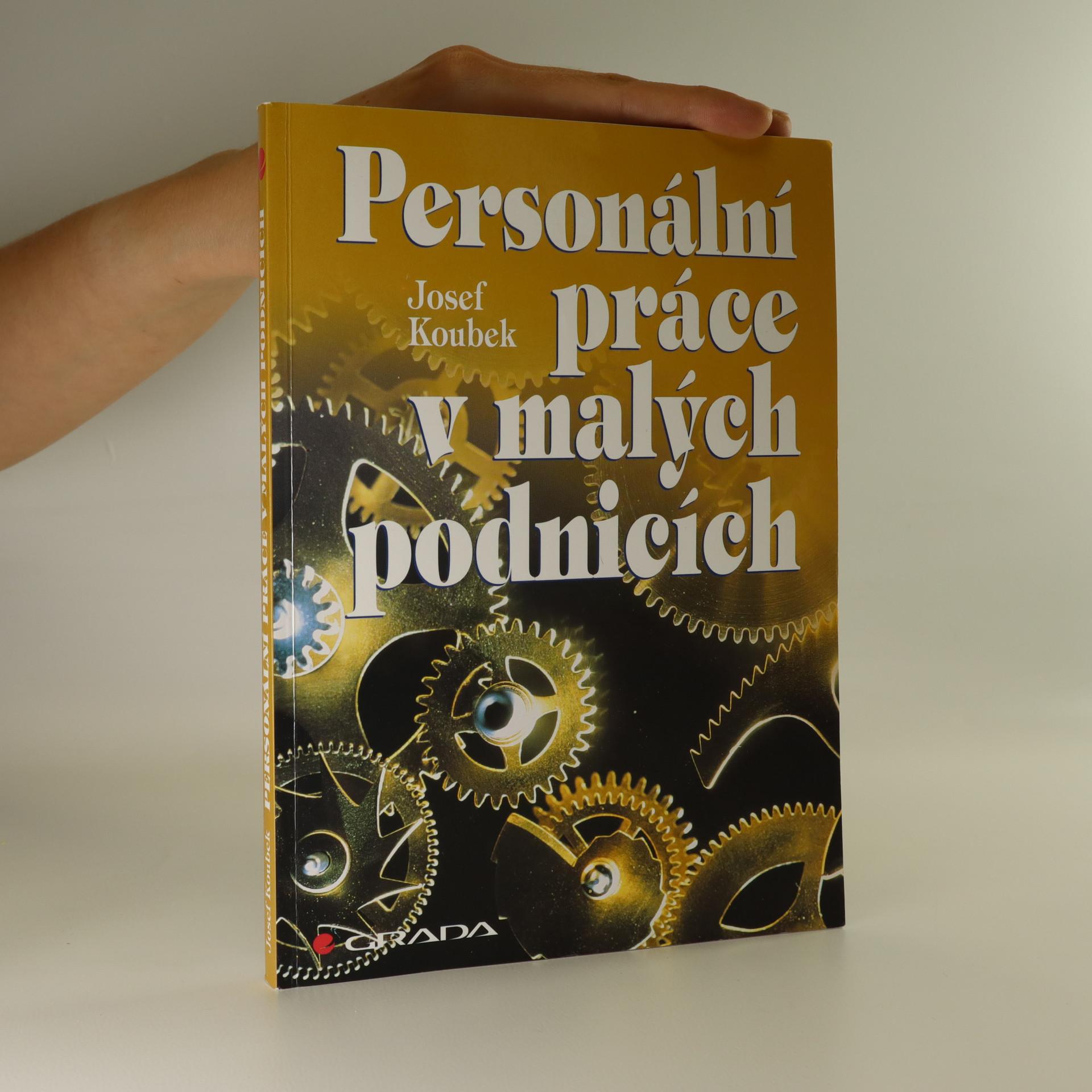 antikvární kniha Personální práce v malých podnicích, 1996