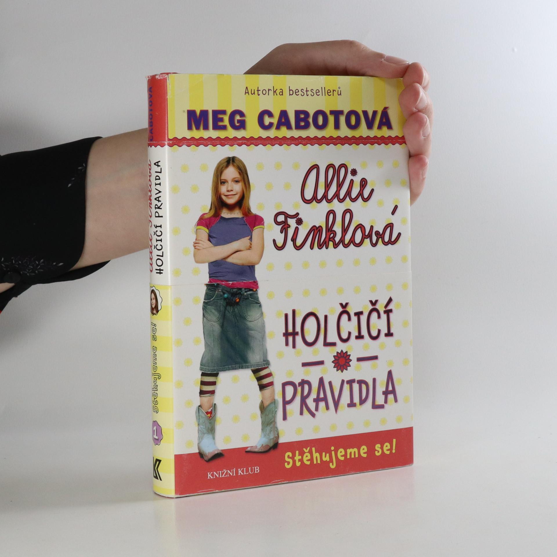 antikvární kniha Allie Finklová. Stěhujeme se!, 2010