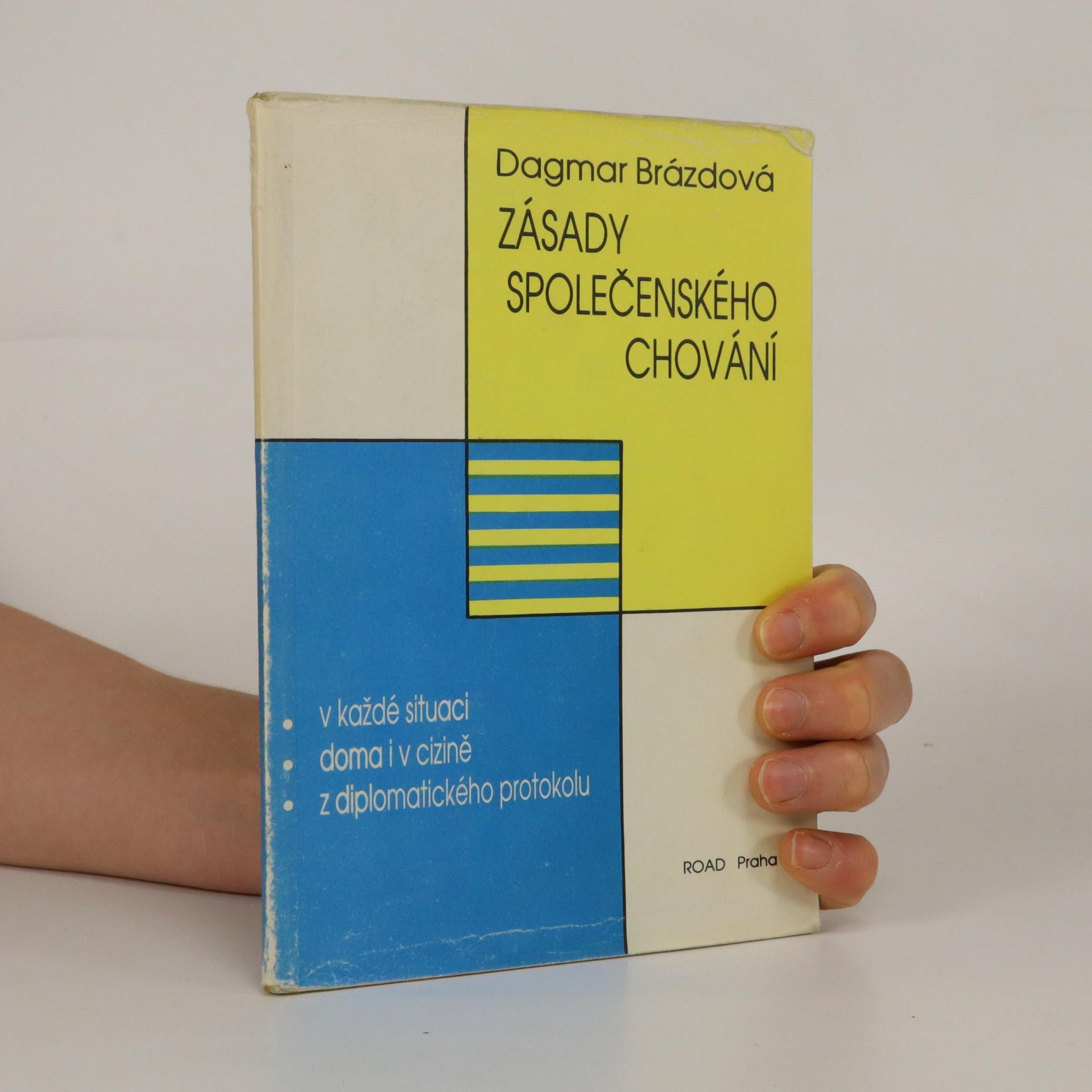 antikvární kniha Zásady společenského chování , 1991