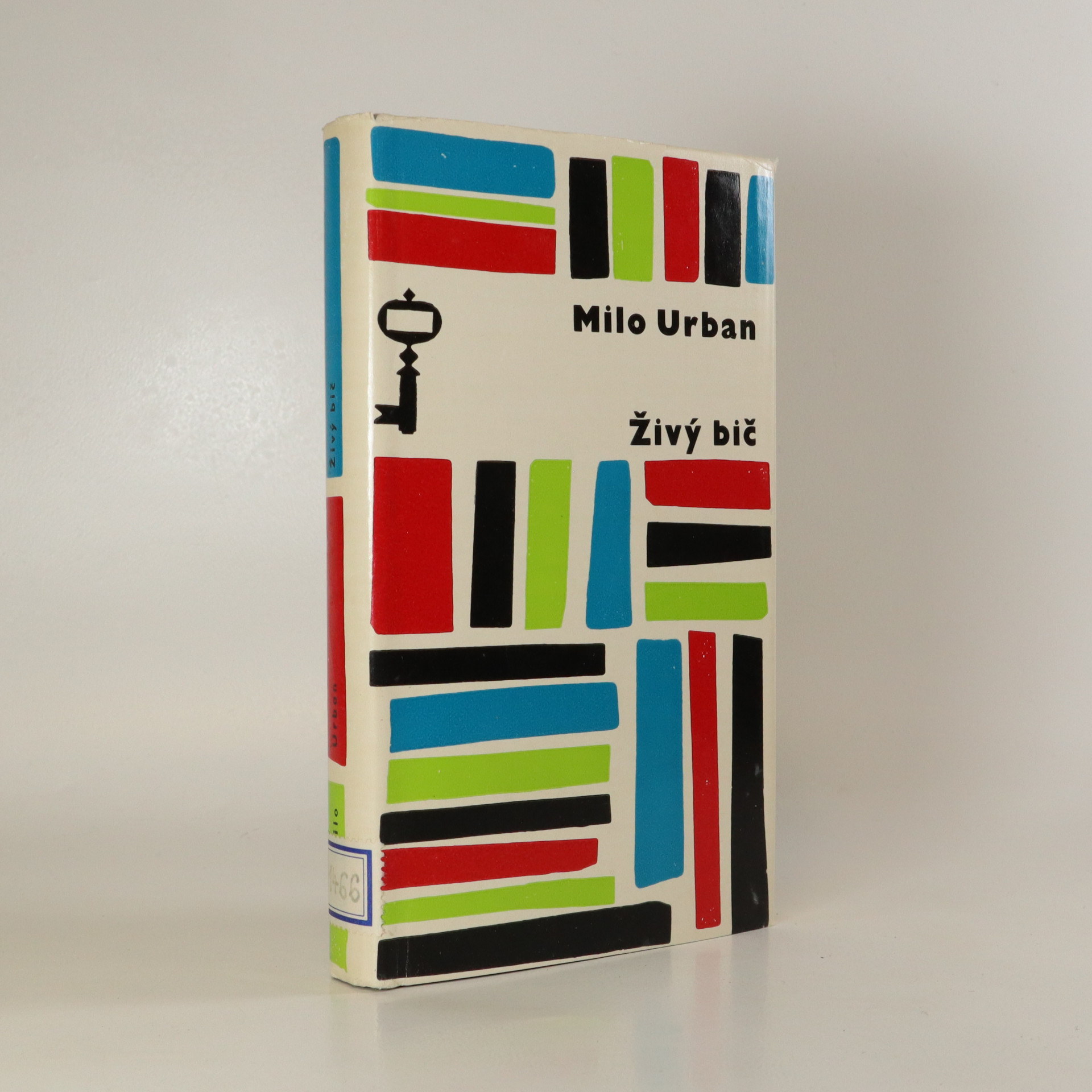 antikvární kniha Živý bič, 1965