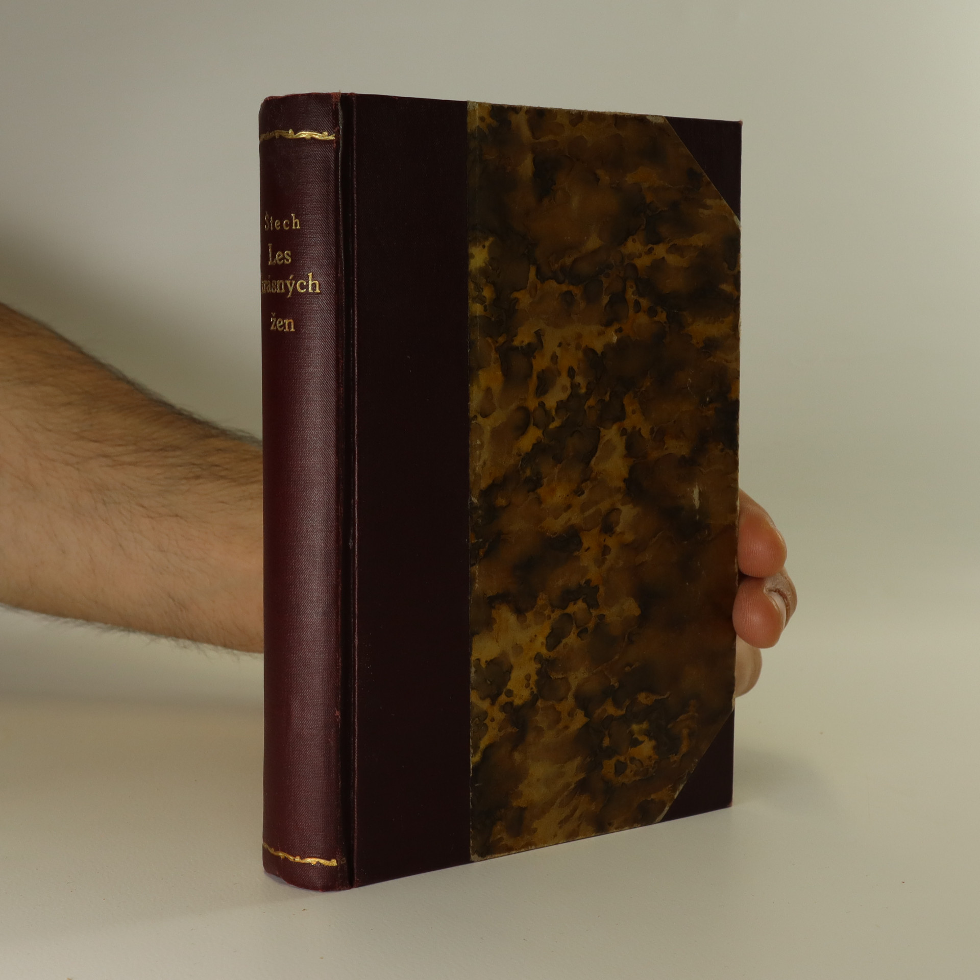 antikvární kniha Les krásných žen, 1925
