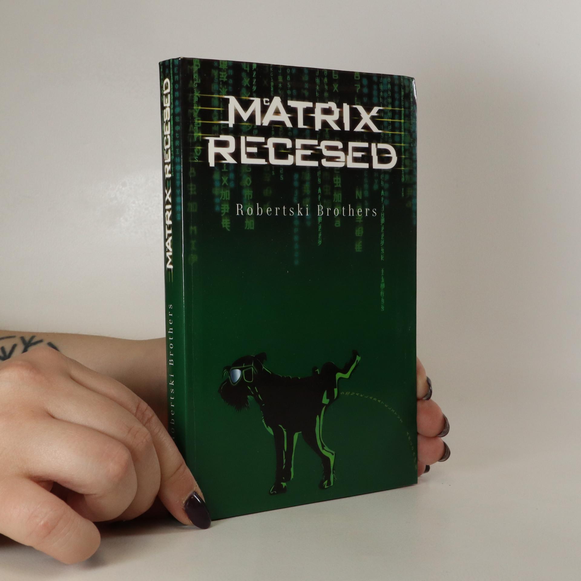 antikvární kniha McAtrix recesed, 2004