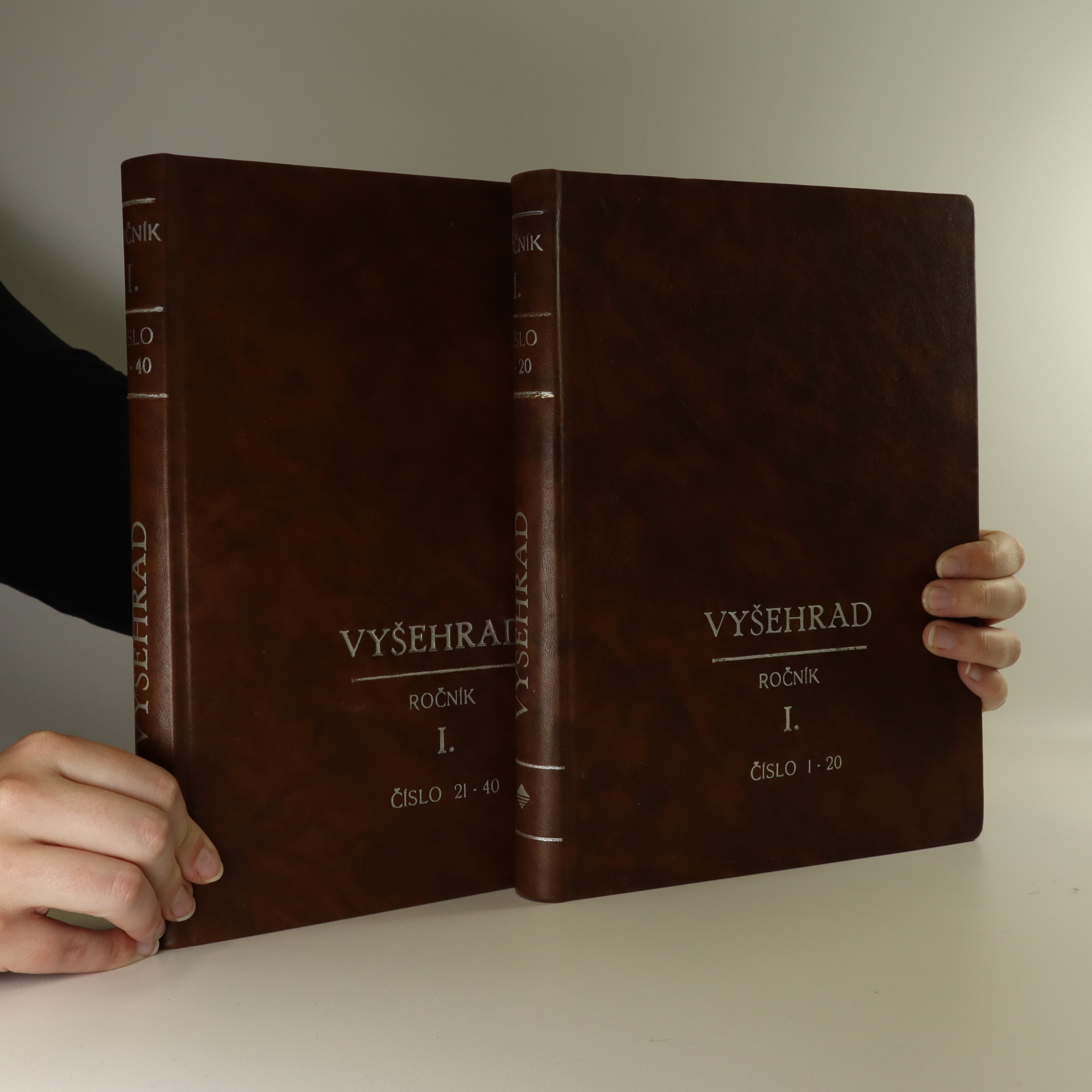 antikvární kniha Vyšehrad, list pro křesťanskou kulturu. Ročník I. Čísla 1 - 40. (2 svazky)., 1946