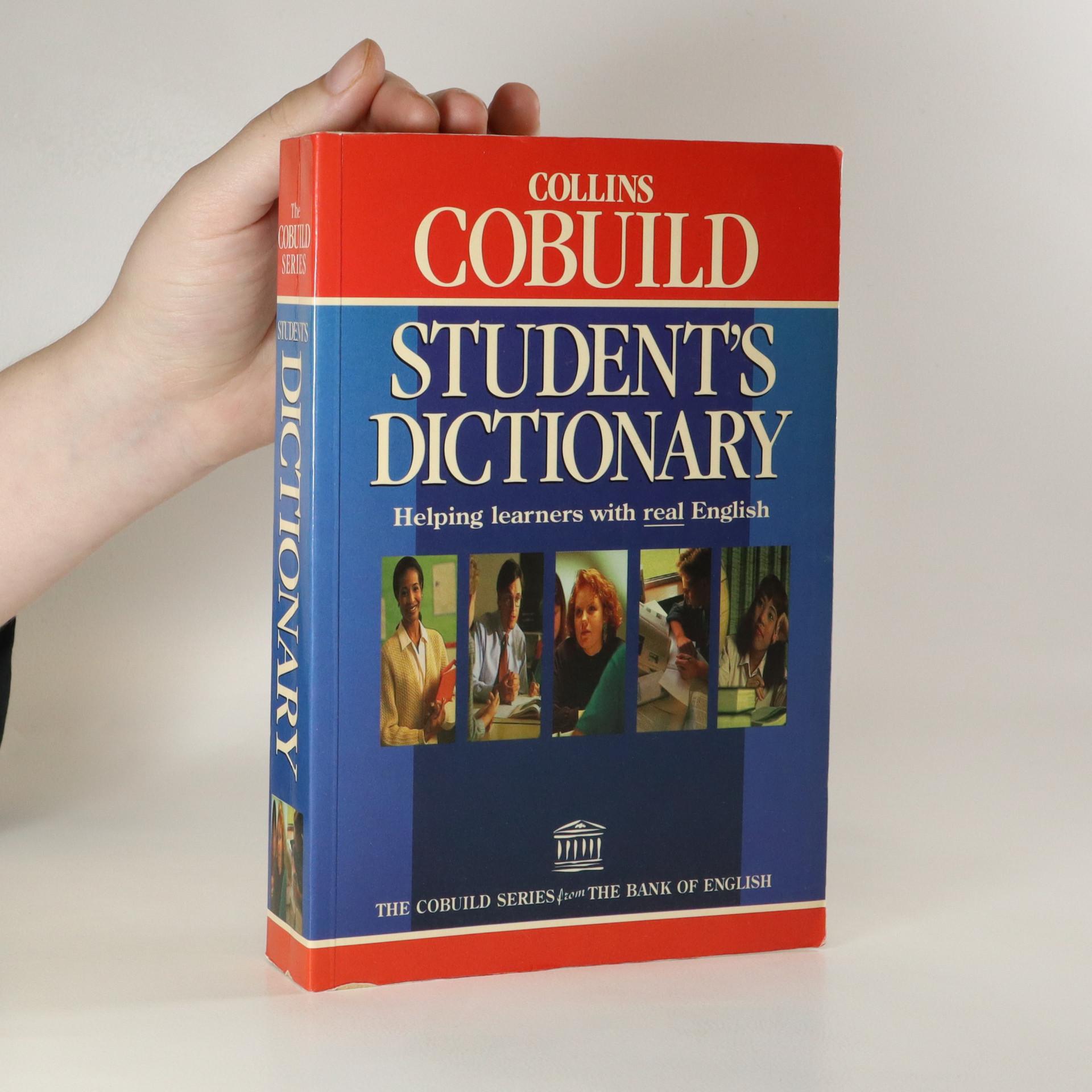 antikvární kniha Collins Cobuild Student's Dictionary, 1995