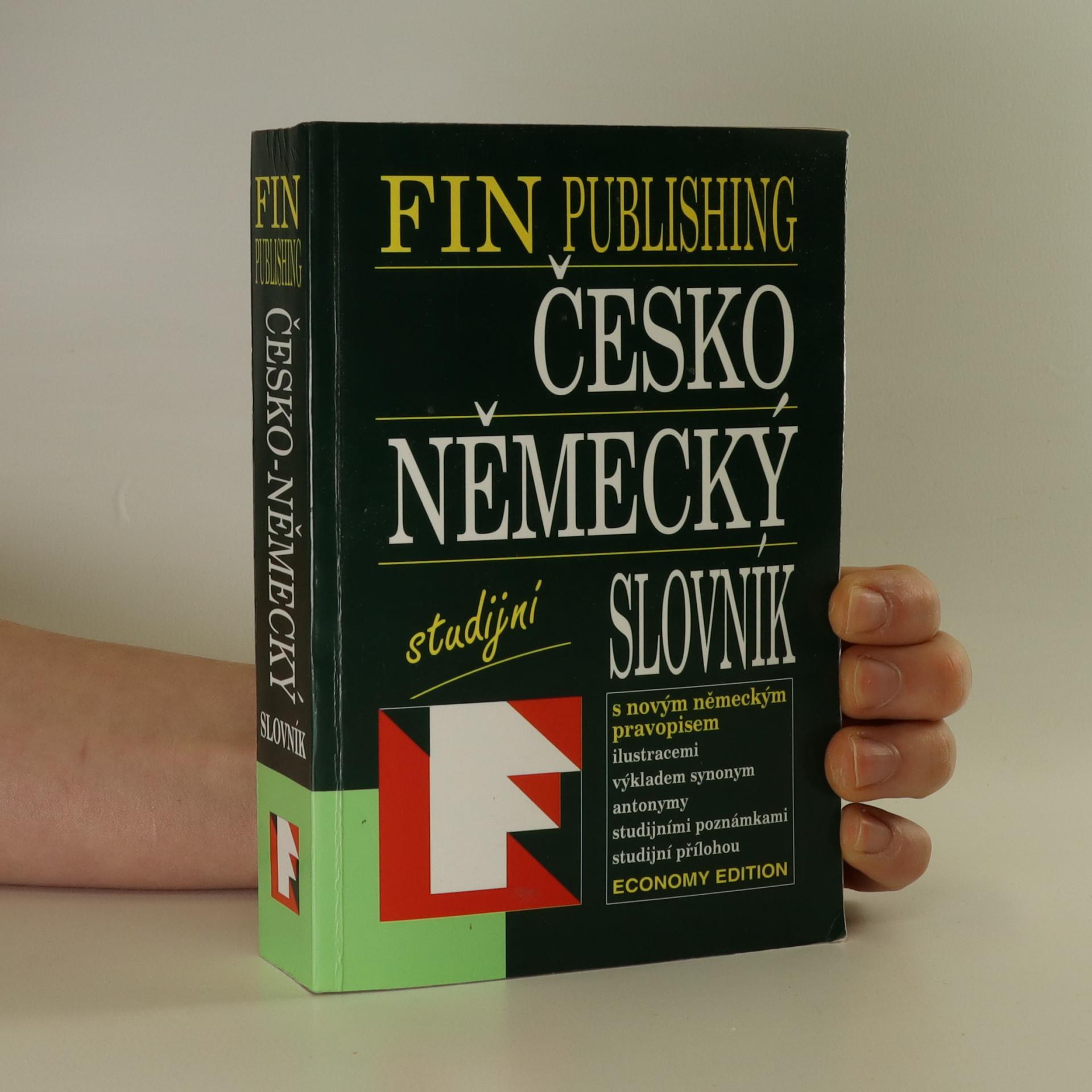 antikvární kniha Česko-německý slovník, 1997