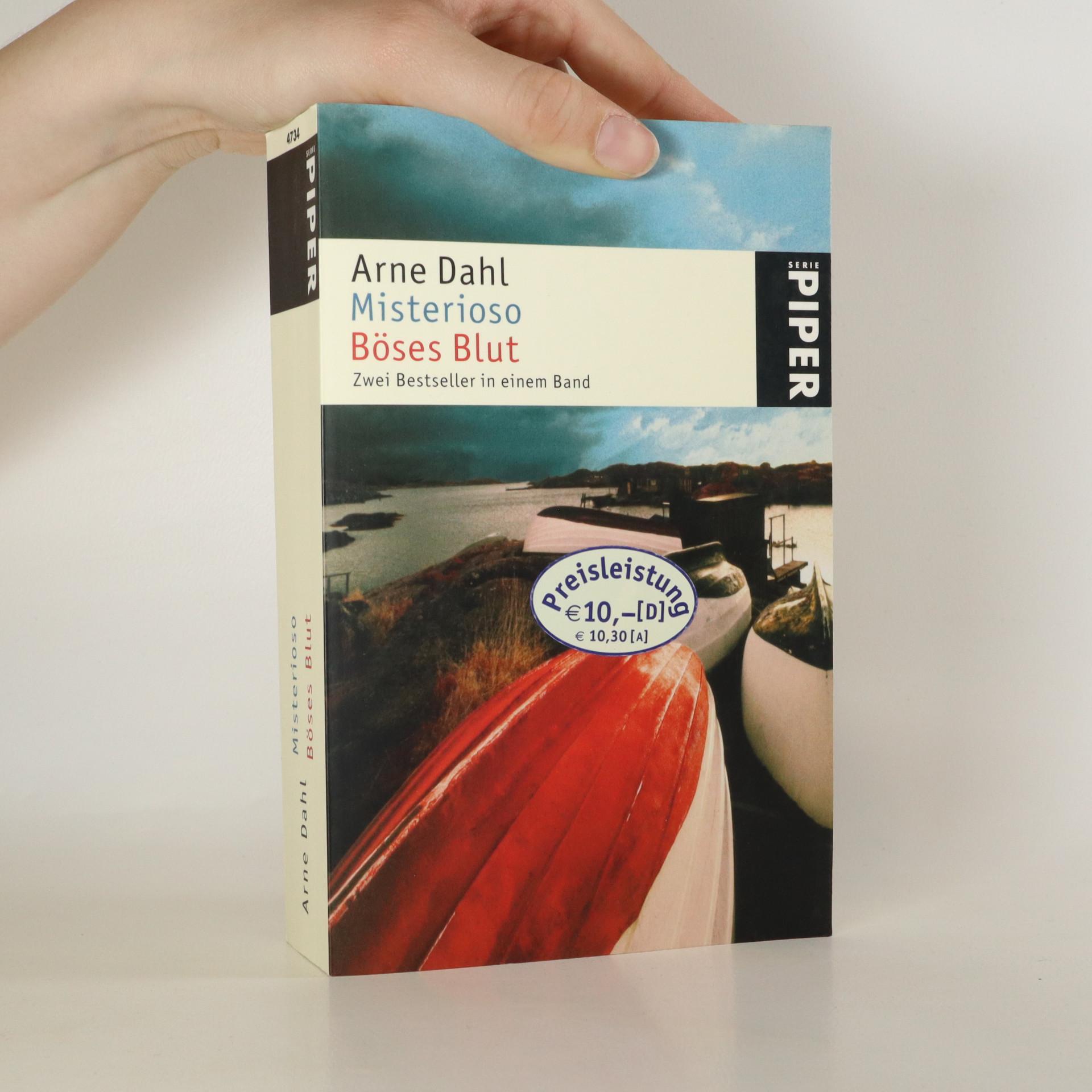 antikvární kniha Misterioso. Böses Blut, 2006