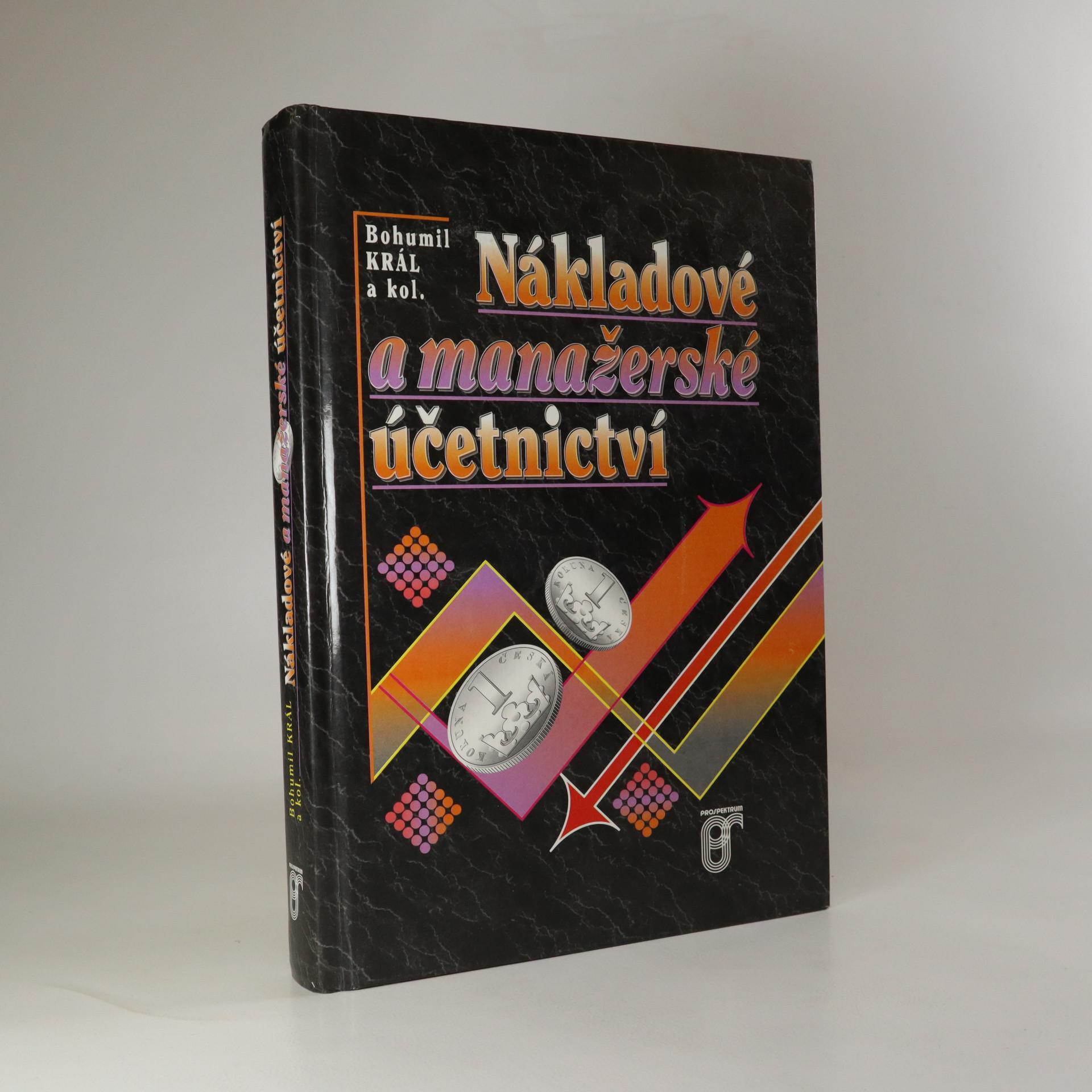 antikvární kniha Nákladové a manažerské účetnictví, 1997