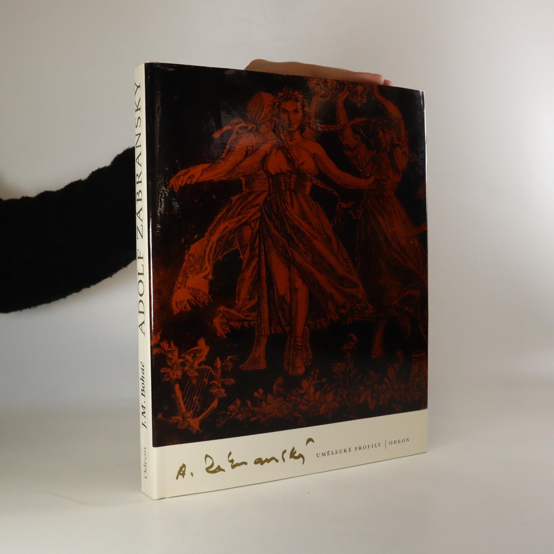 antikvární kniha Adolf Zábranský, 1985