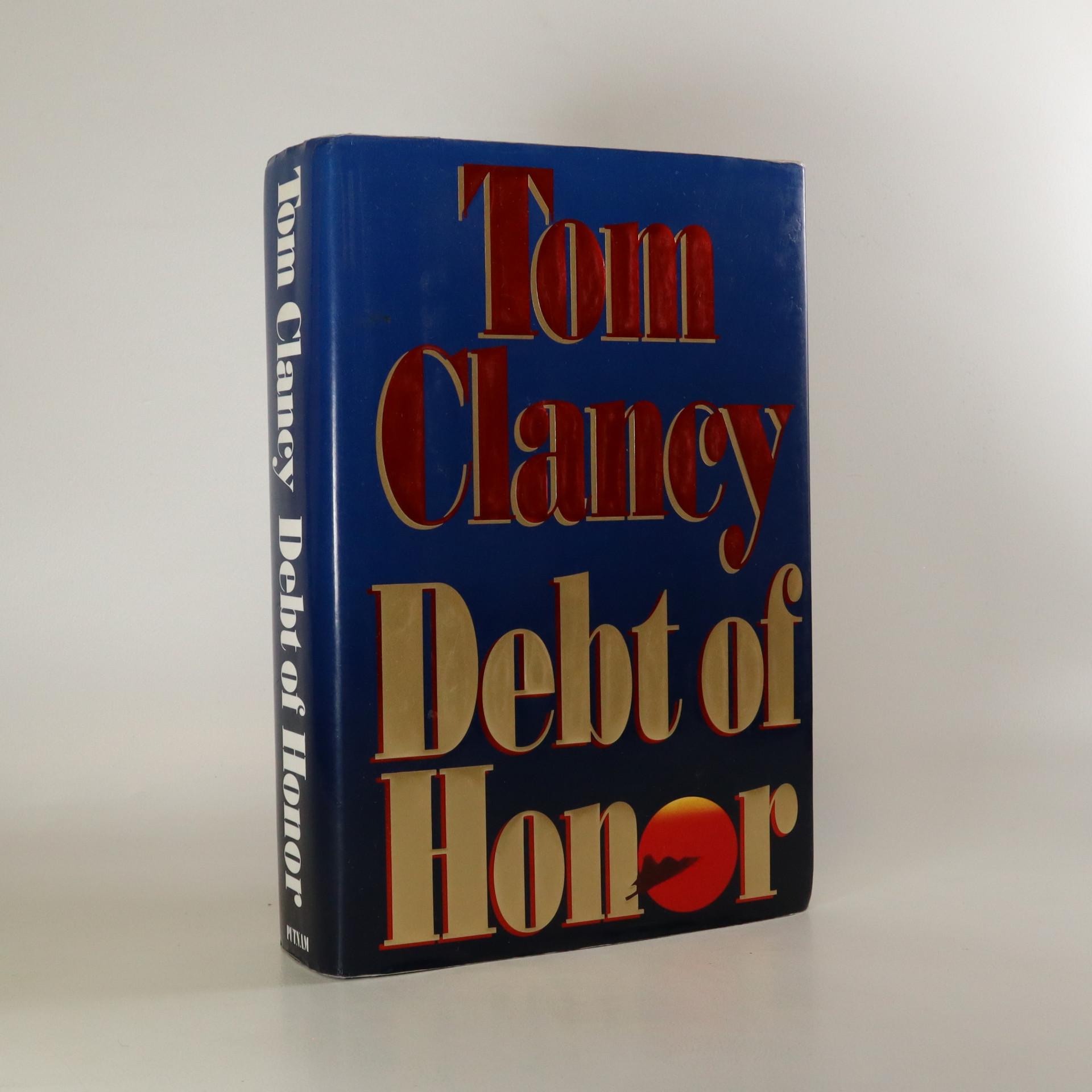 antikvární kniha Debt of Honor, neuveden