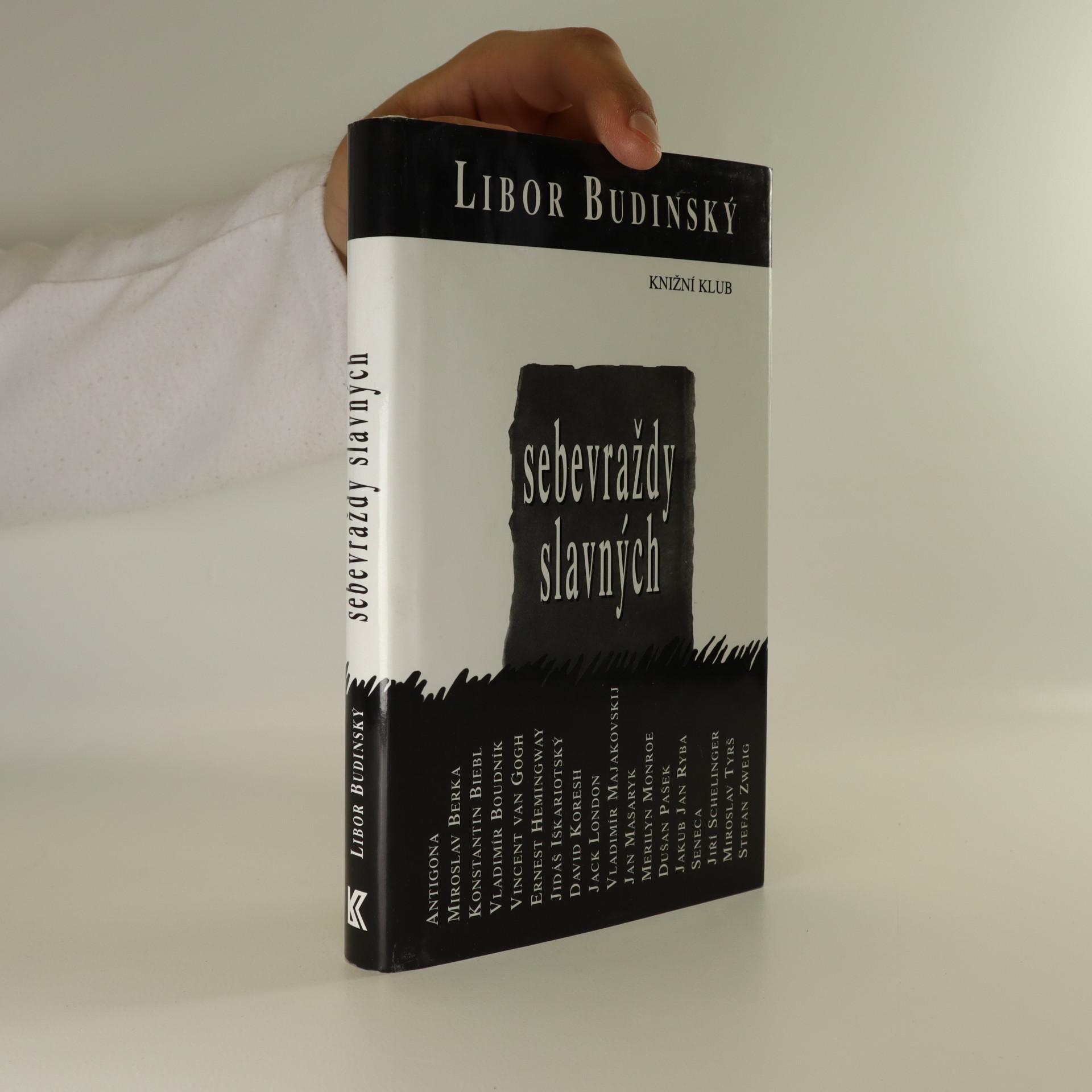 antikvární kniha Sebevraždy slavných, 2000