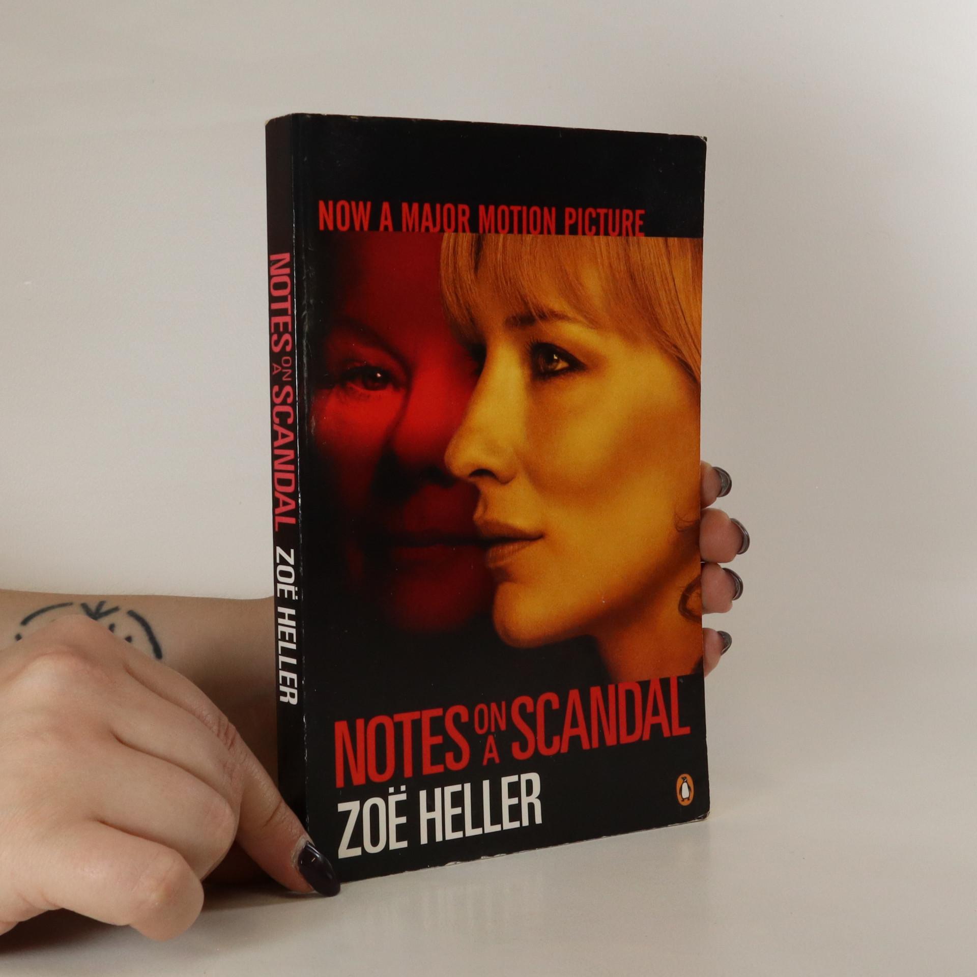 antikvární kniha Notes on a Scandal, 2007