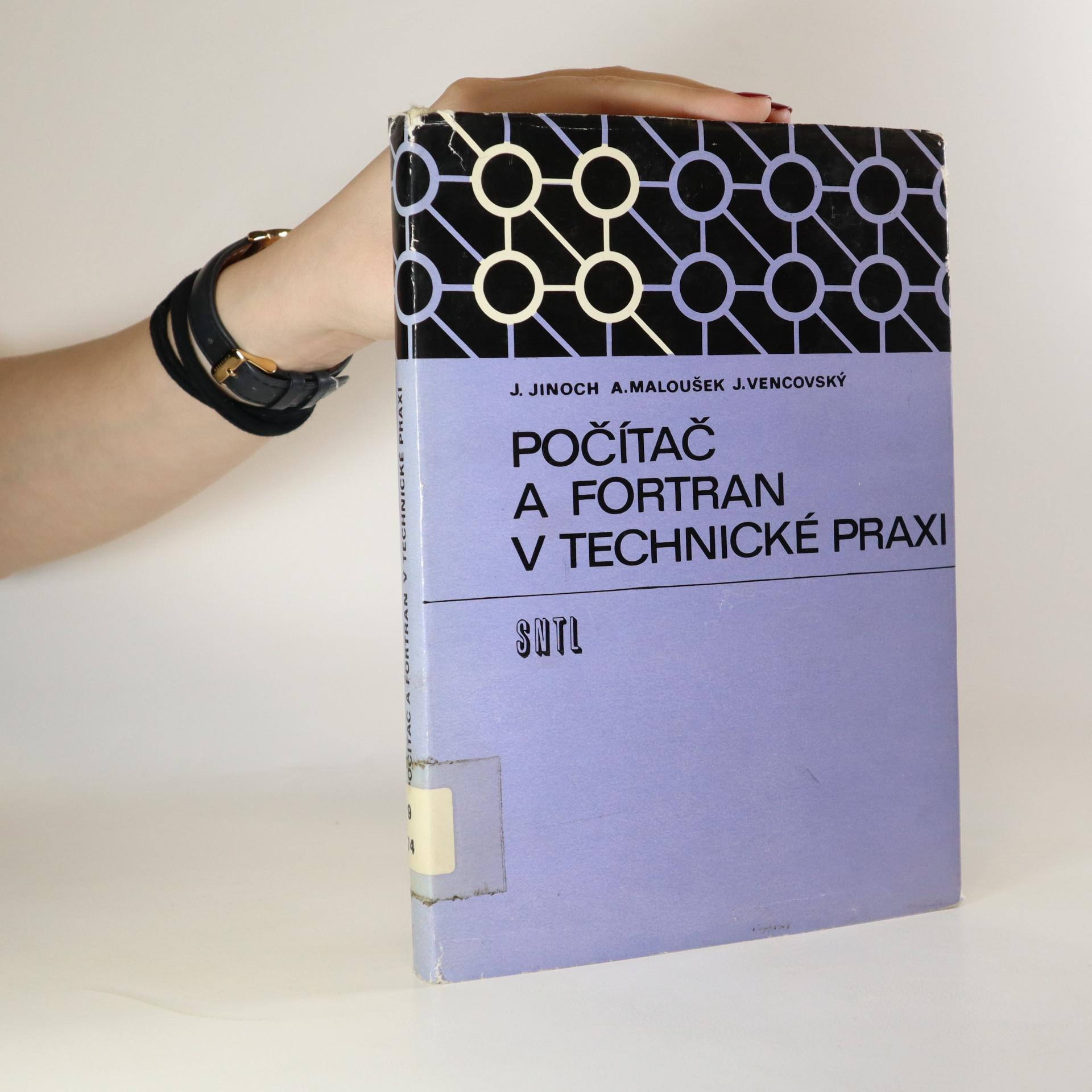 antikvární kniha Počítač a FORTRAN v technické praxi, 1973