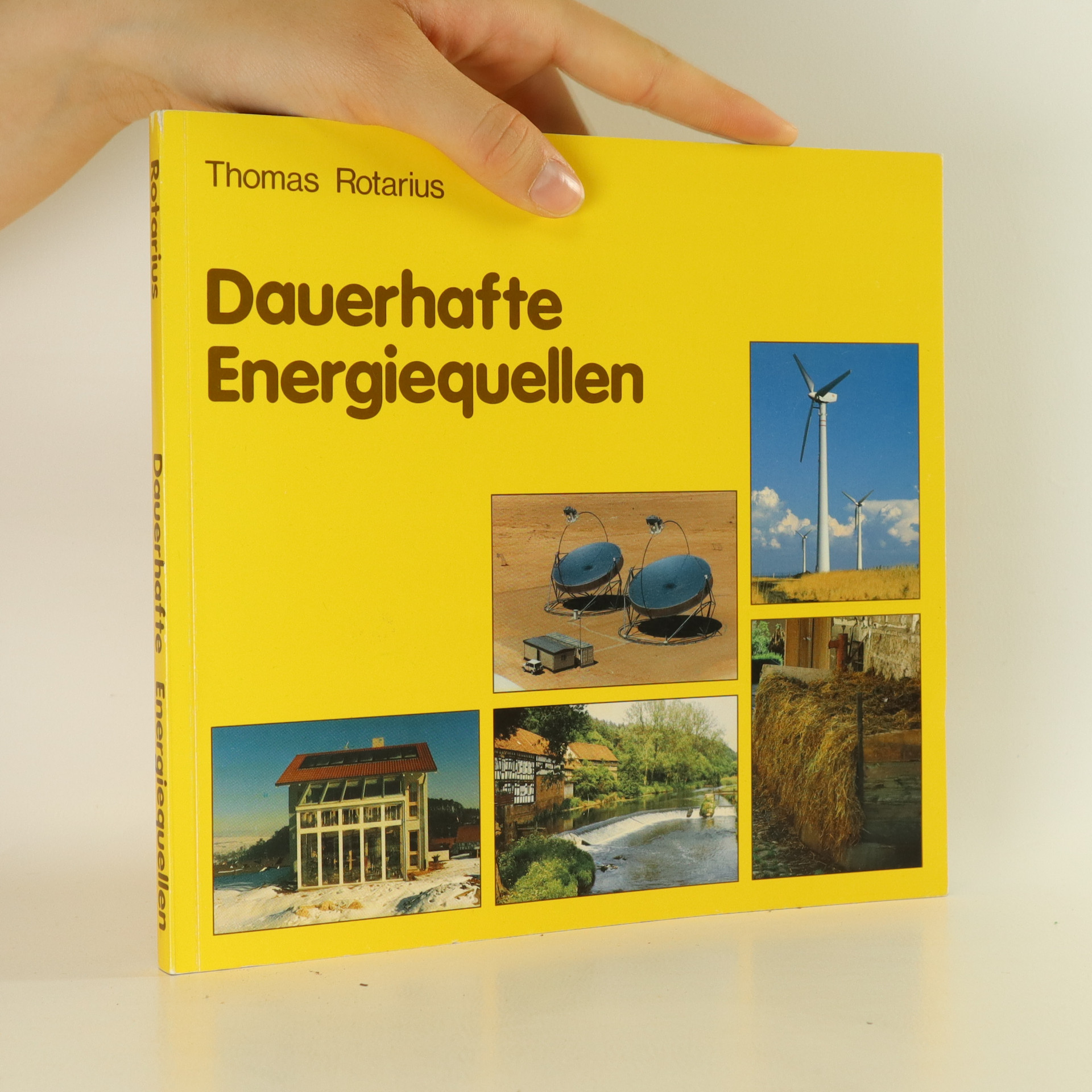 antikvární kniha Dauerhafte Energiequellen, 1988