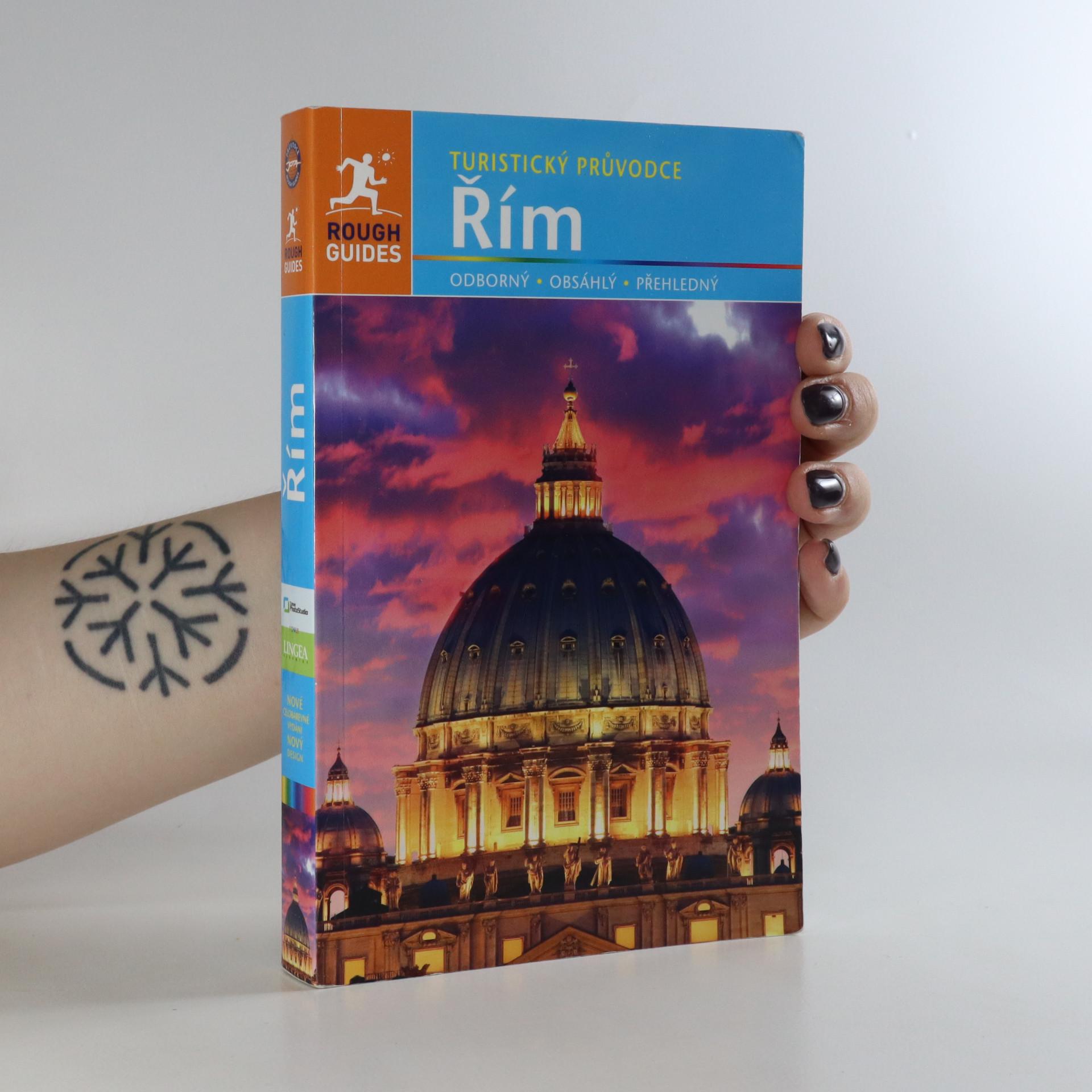 antikvární kniha Řím, 2015