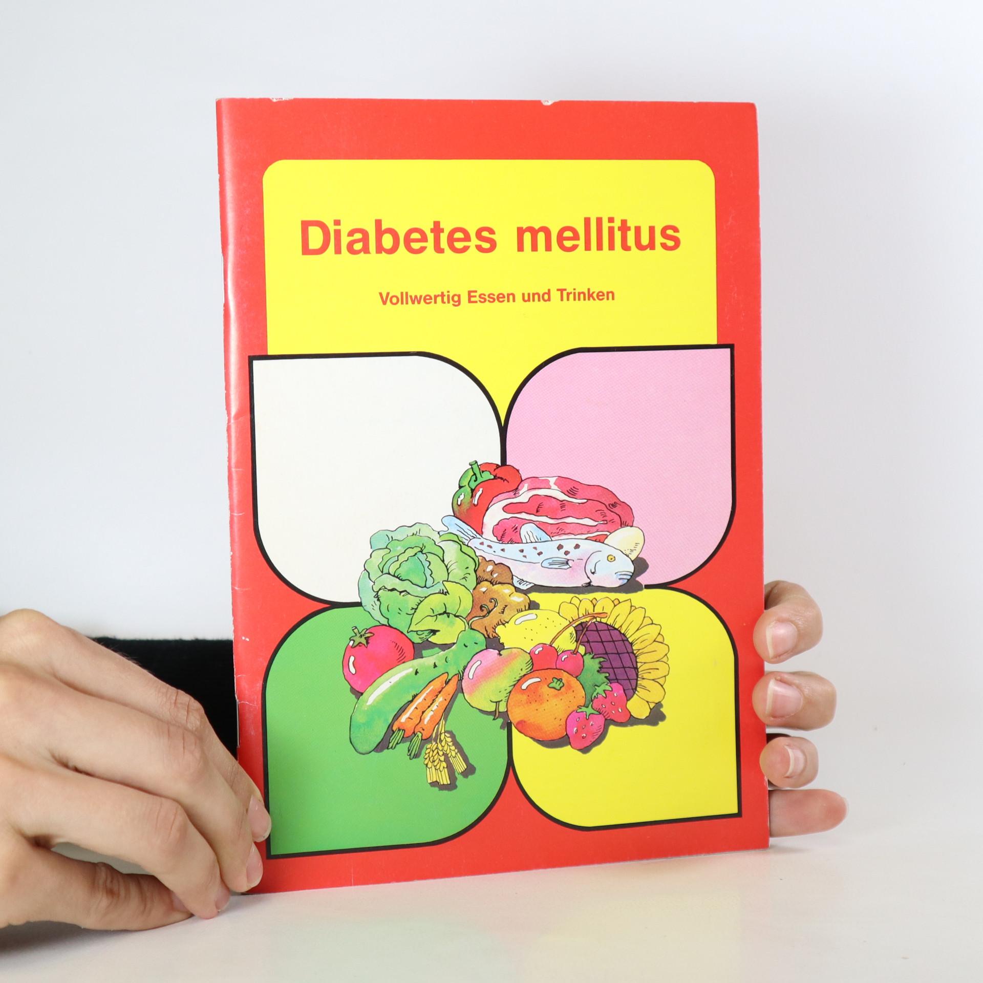 antikvární kniha Diabetes mellitus, 1995