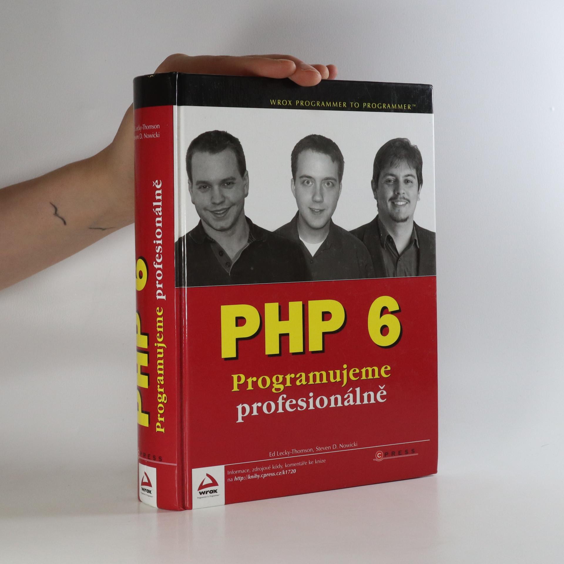 antikvární kniha PHP 6. Programujeme profesionálně, 2010
