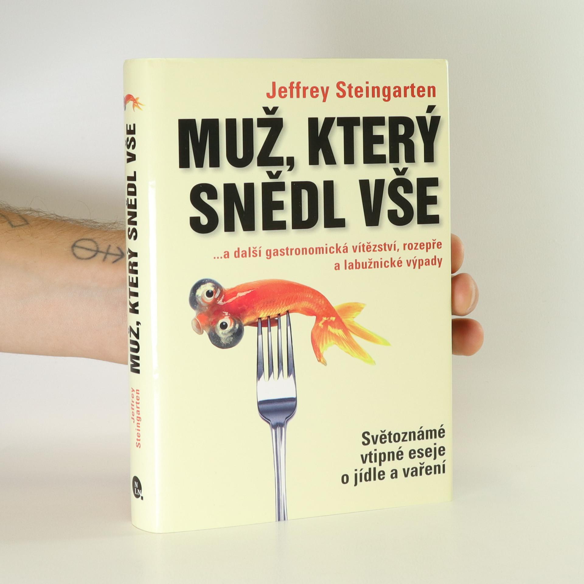 antikvární kniha Muž, který snědl vše, 2008