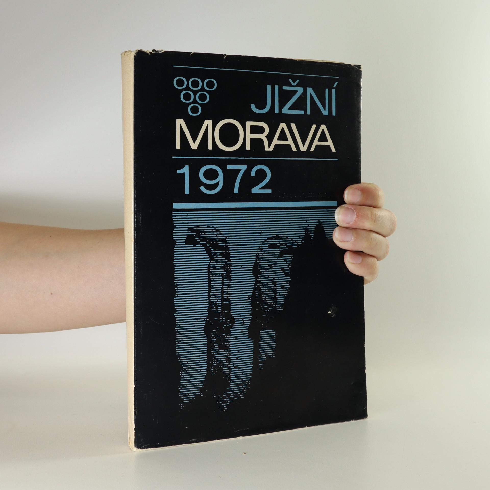 antikvární kniha Jižní Morava 1972, 1972