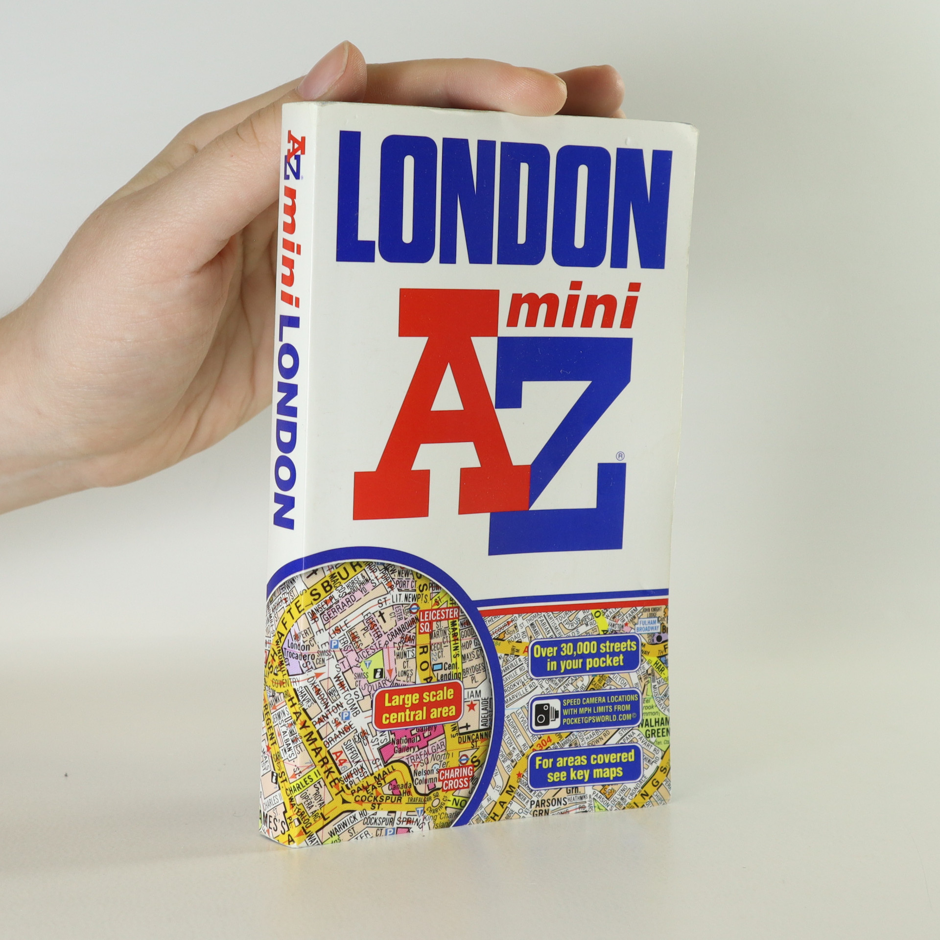 antikvární kniha London. Mini Street Atlas., 2009