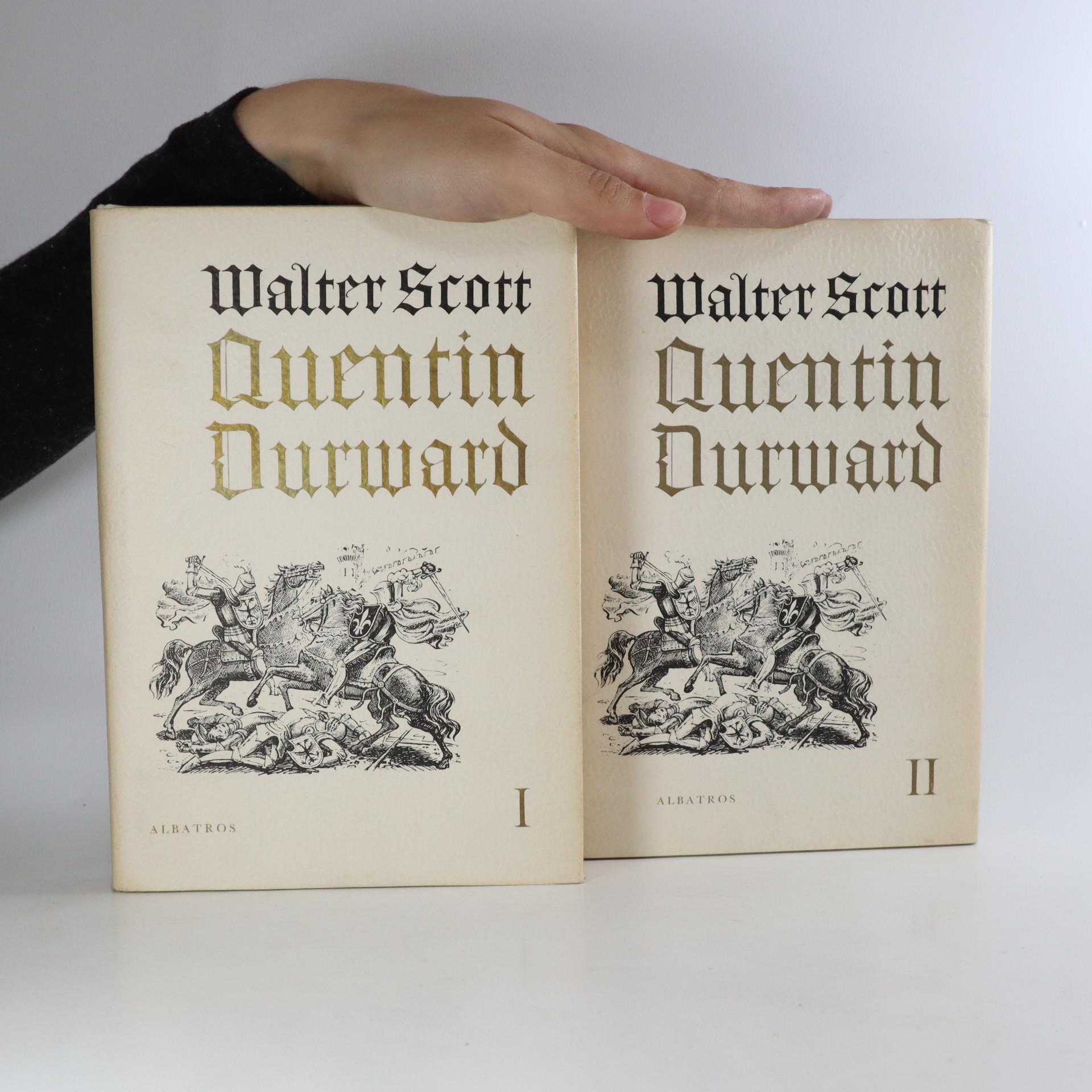 antikvární kniha Quentin Durward I. a II. díl (2 svazky), 1971