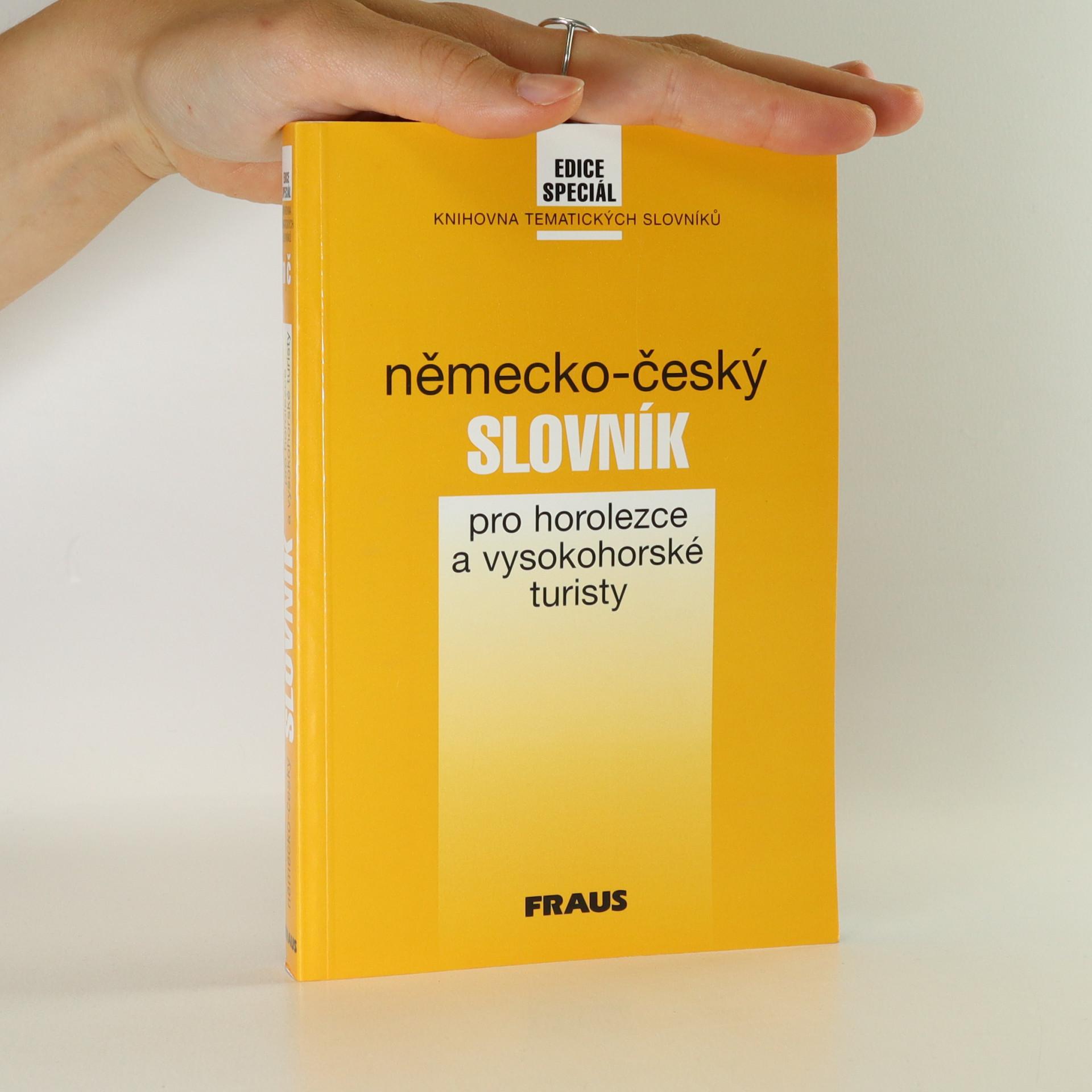 antikvární kniha Německo-český slovník pro horolezce a vysokohorské turisty, 1997