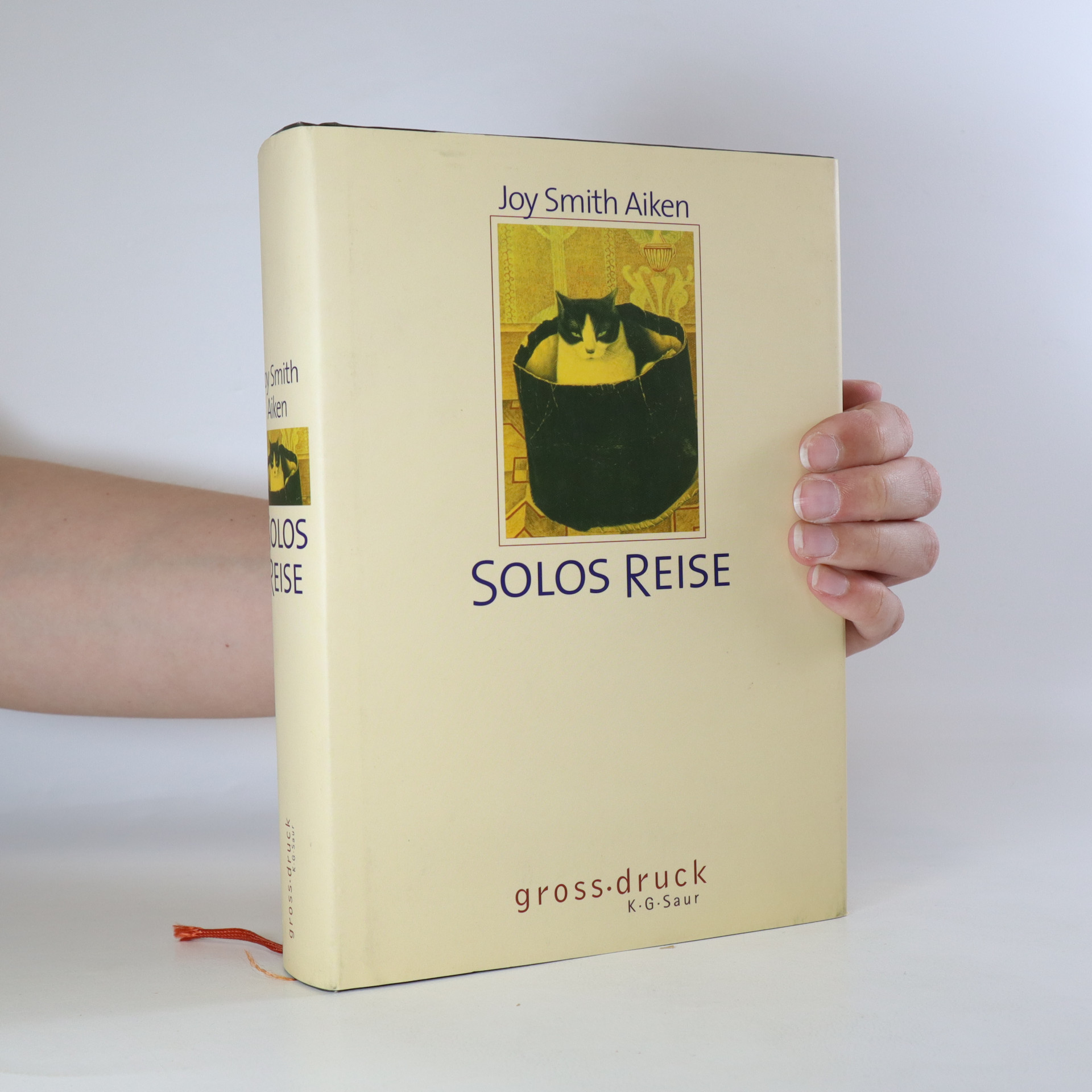 antikvární kniha Solos reise, 2003