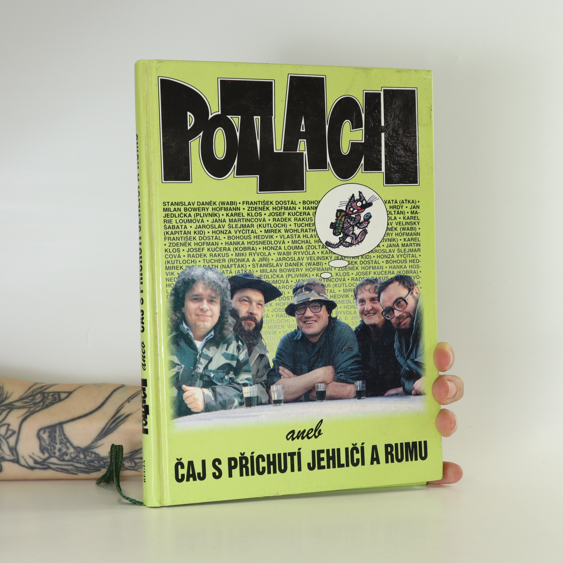antikvární kniha Potlach, aneb, Čaj s příchutí jehličí a rumu, 1998