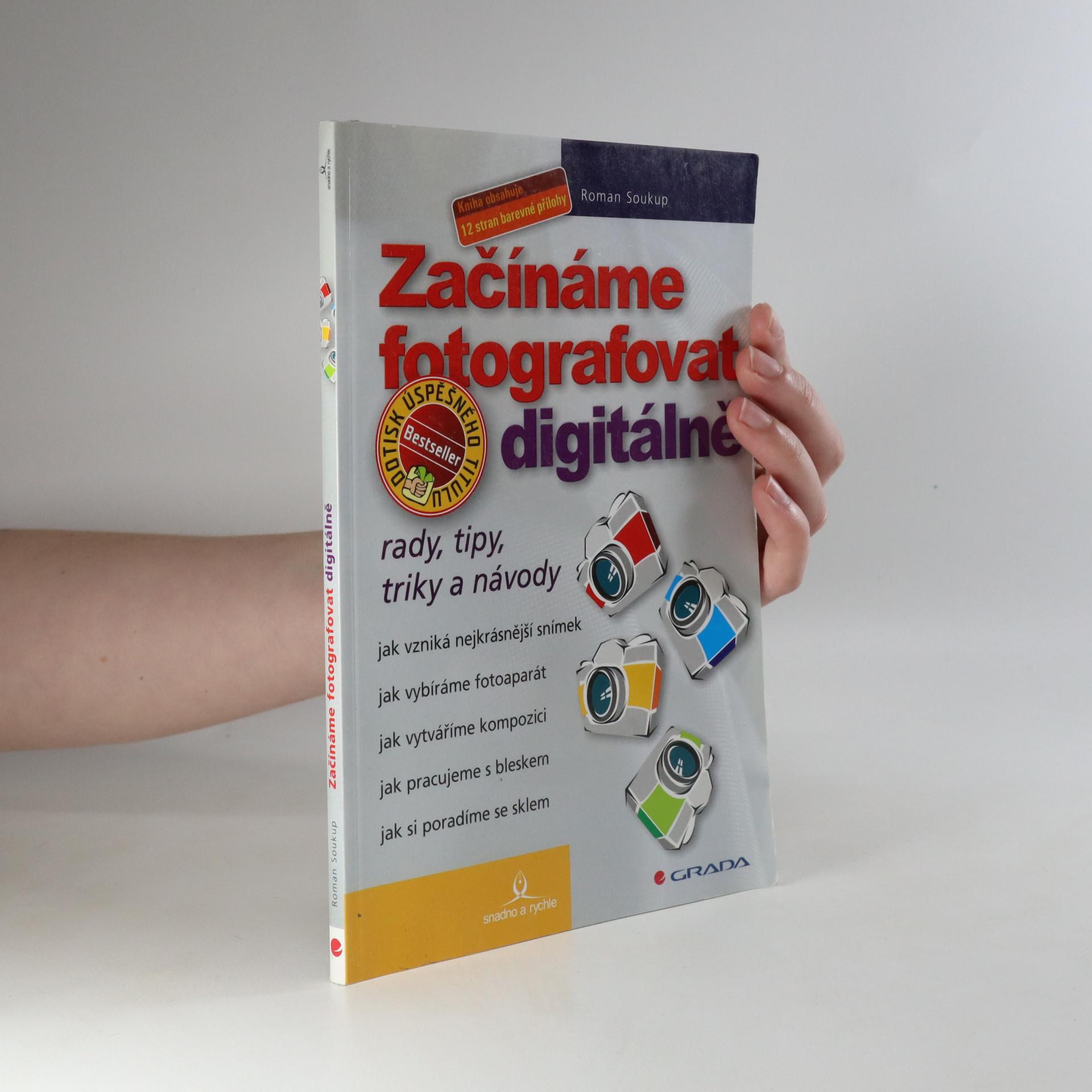 antikvární kniha Začínáme fotografovat digitálně , 2005