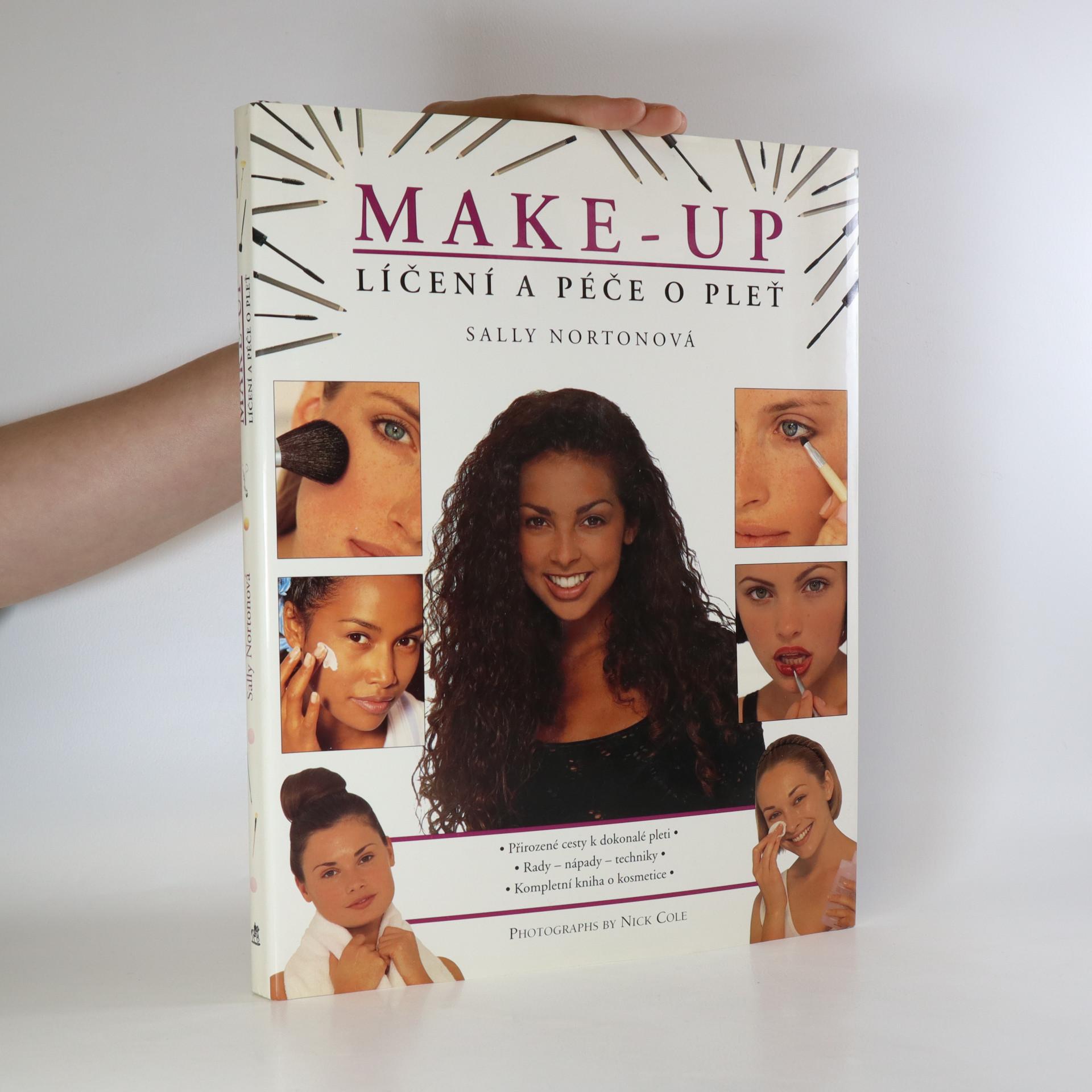 antikvární kniha Make-up. Líčení a péče o pleť. Přirozené cesty k dokonalé pleti, 1996