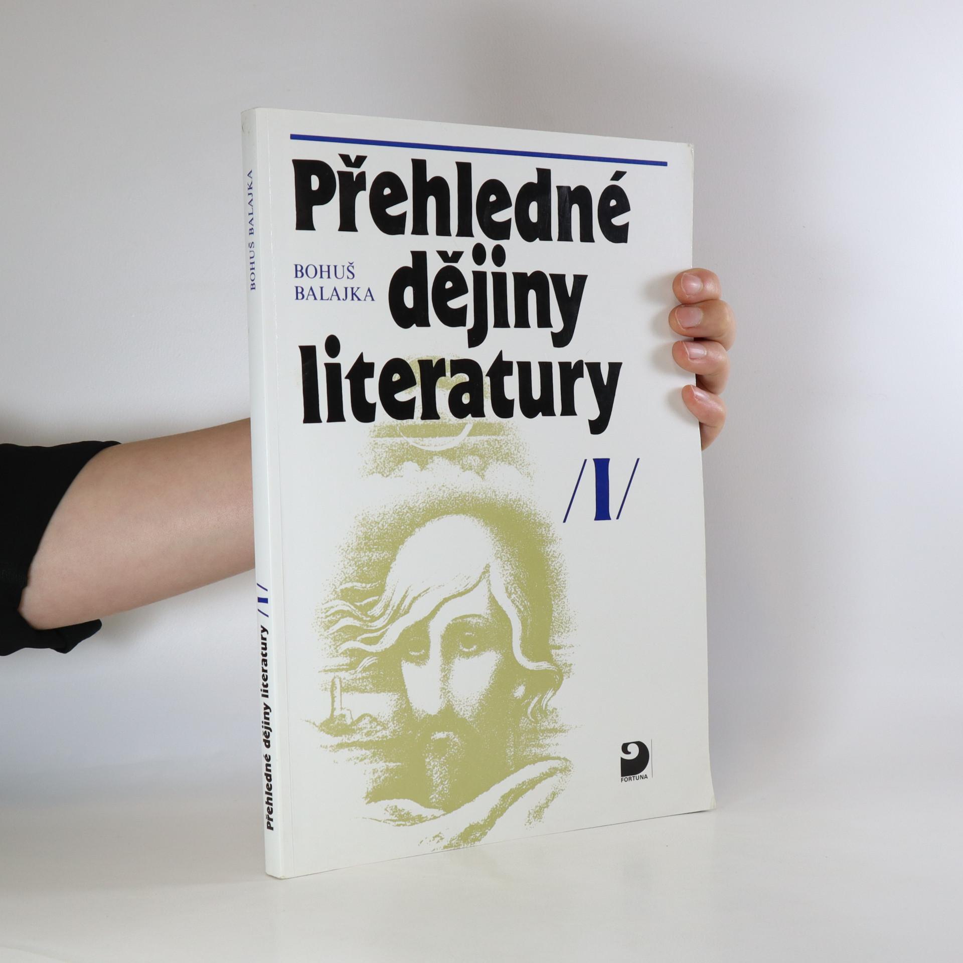 antikvární kniha Přehledné dějiny literatury. I. díl, 2001