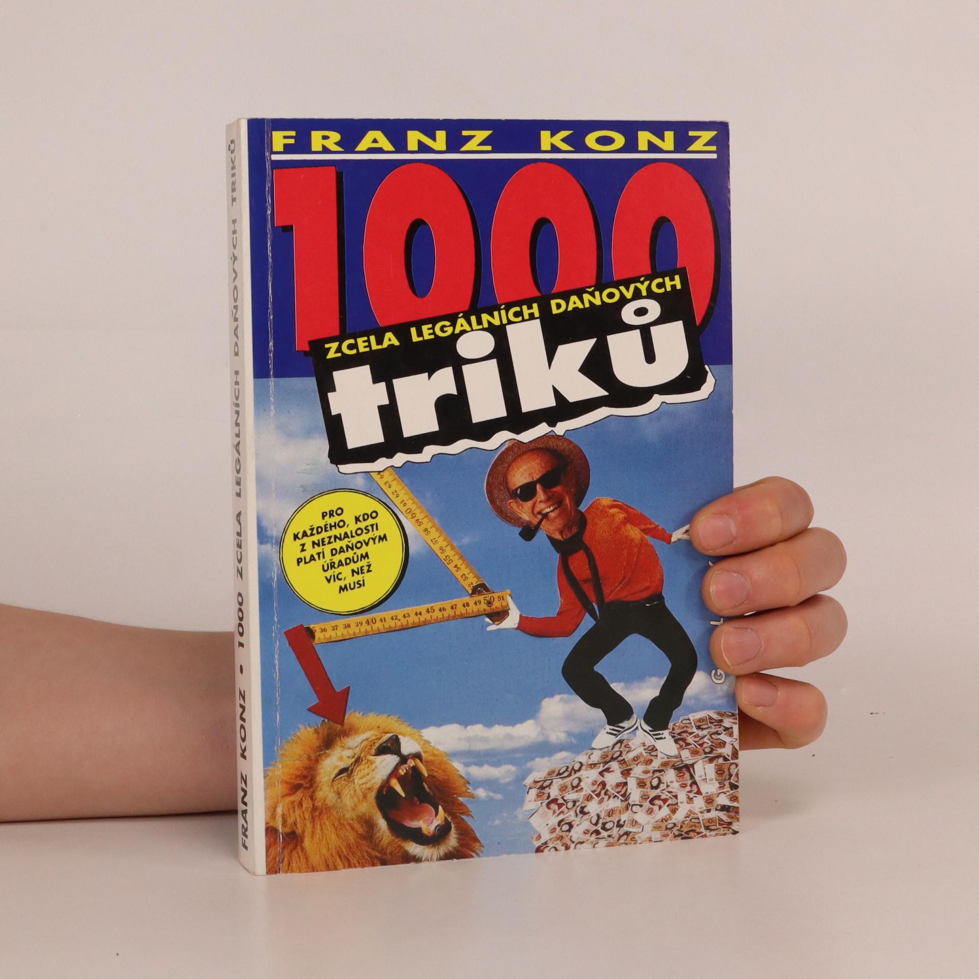 antikvární kniha 1000 zcela legálních daňových triků , 1992