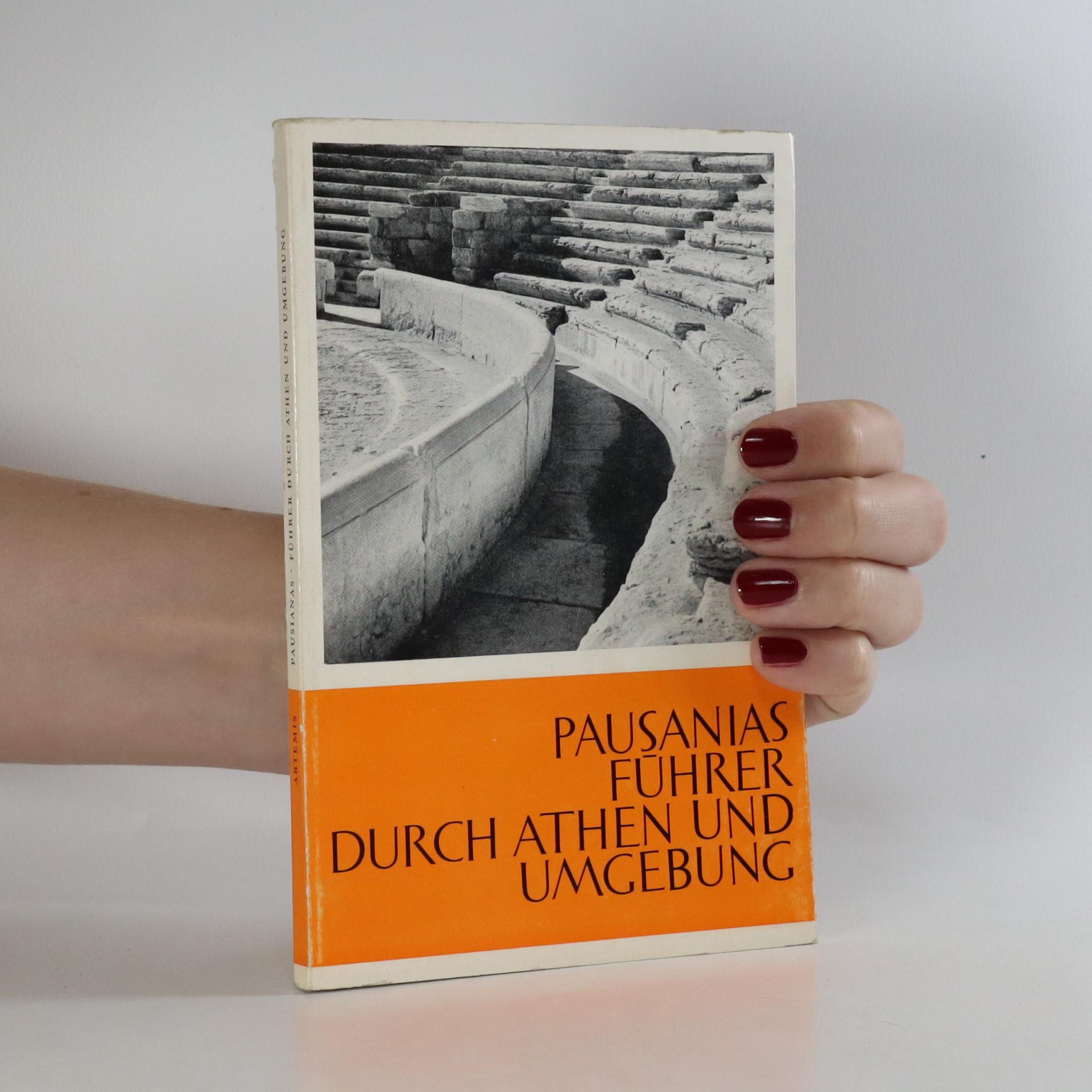 antikvární kniha Führer durch Athen und Umgebung, neuveden