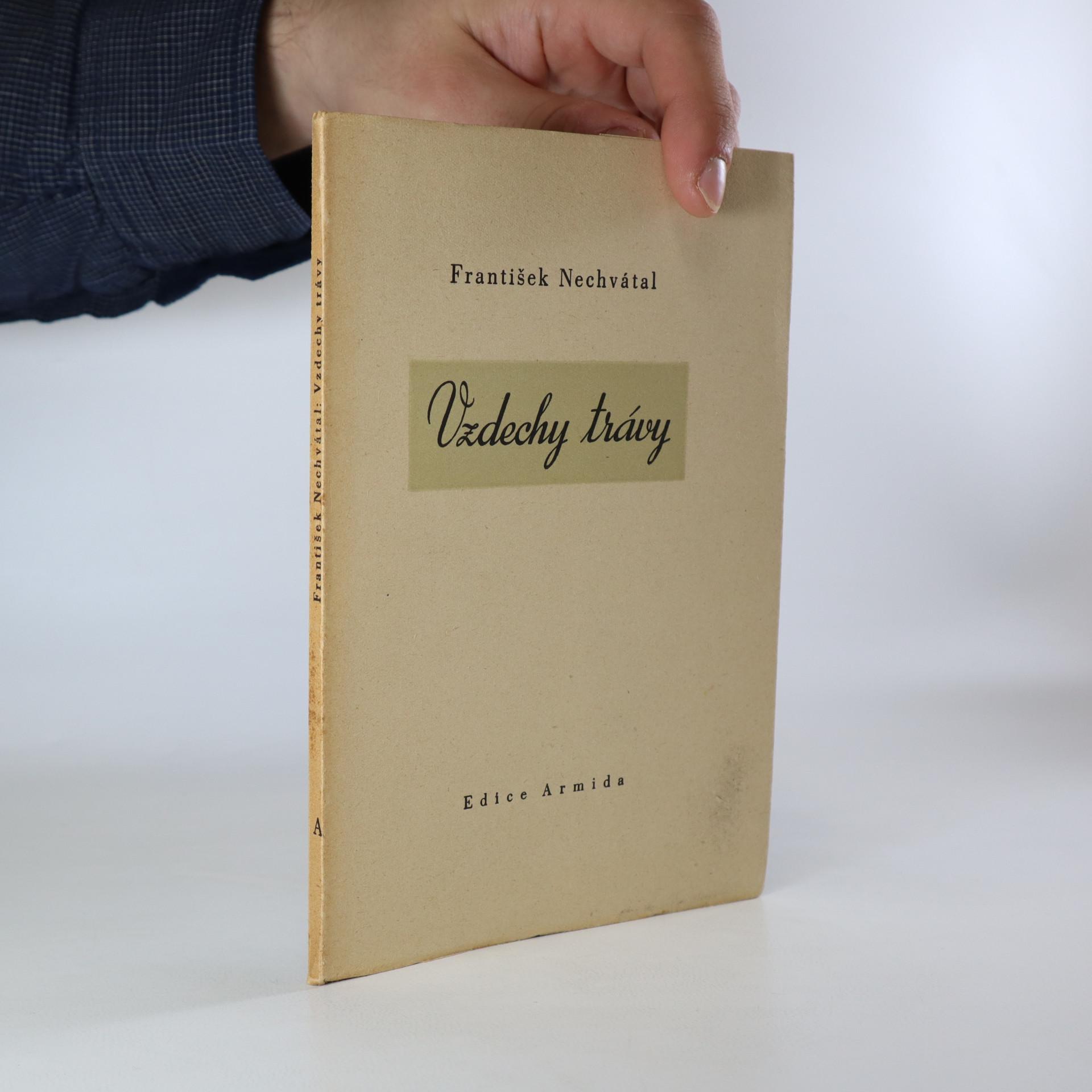 antikvární kniha Vzdechy trávy, 1944