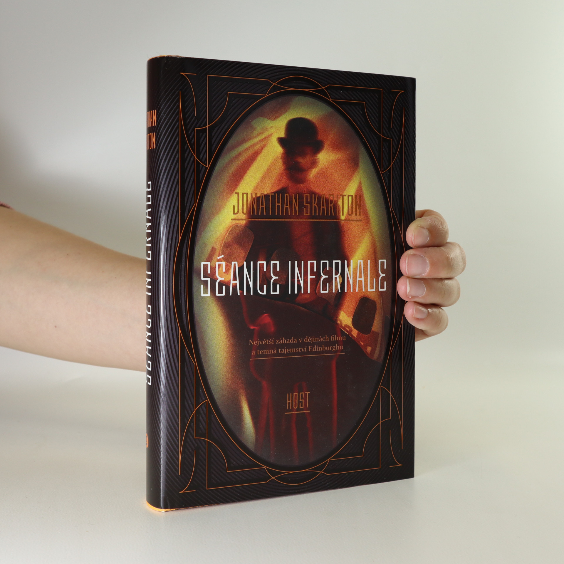antikvární kniha Séance infernale, 2018