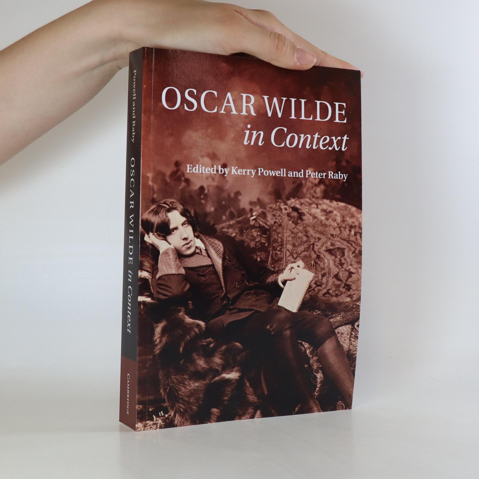 antikvární kniha Oscar Wilde in Context, 2017