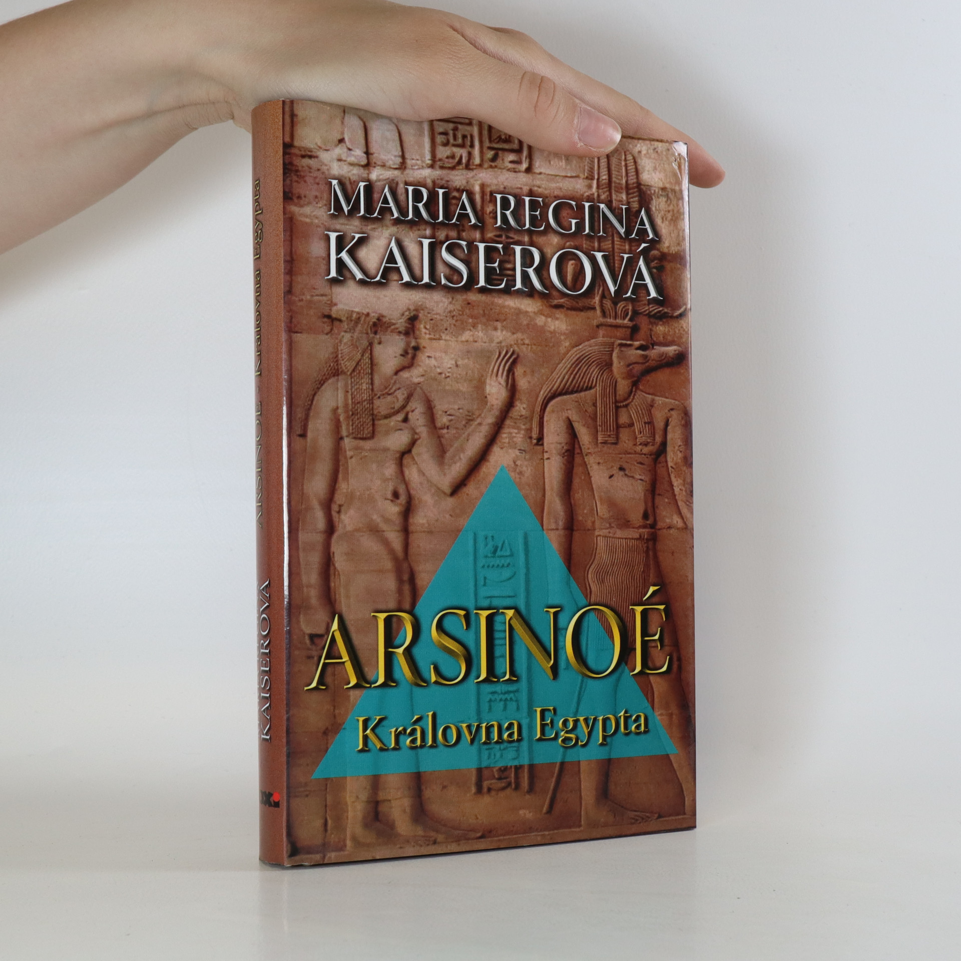 antikvární kniha Arsinoé. Královna Egypta, 2006