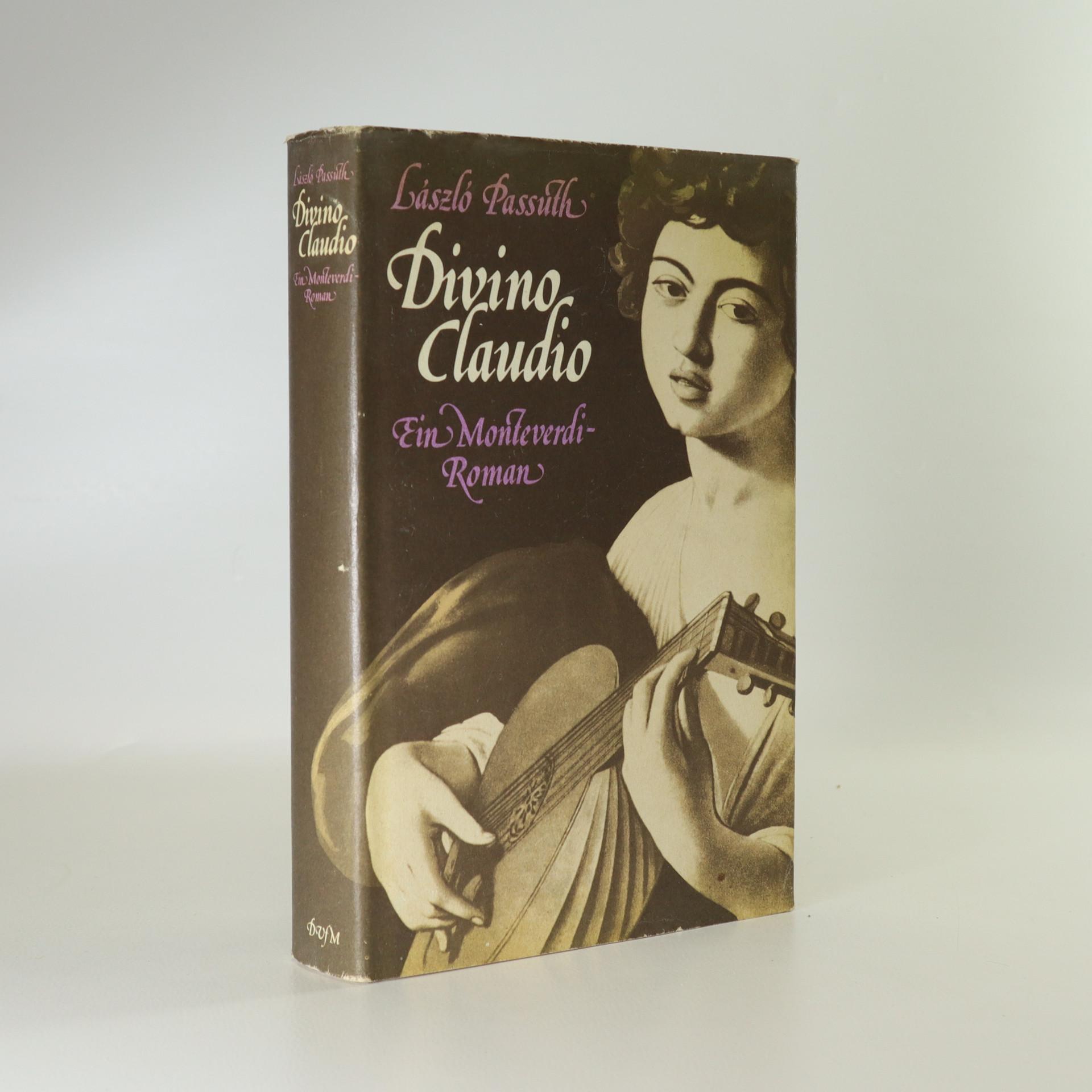 antikvární kniha Divino Claudio, neuveden