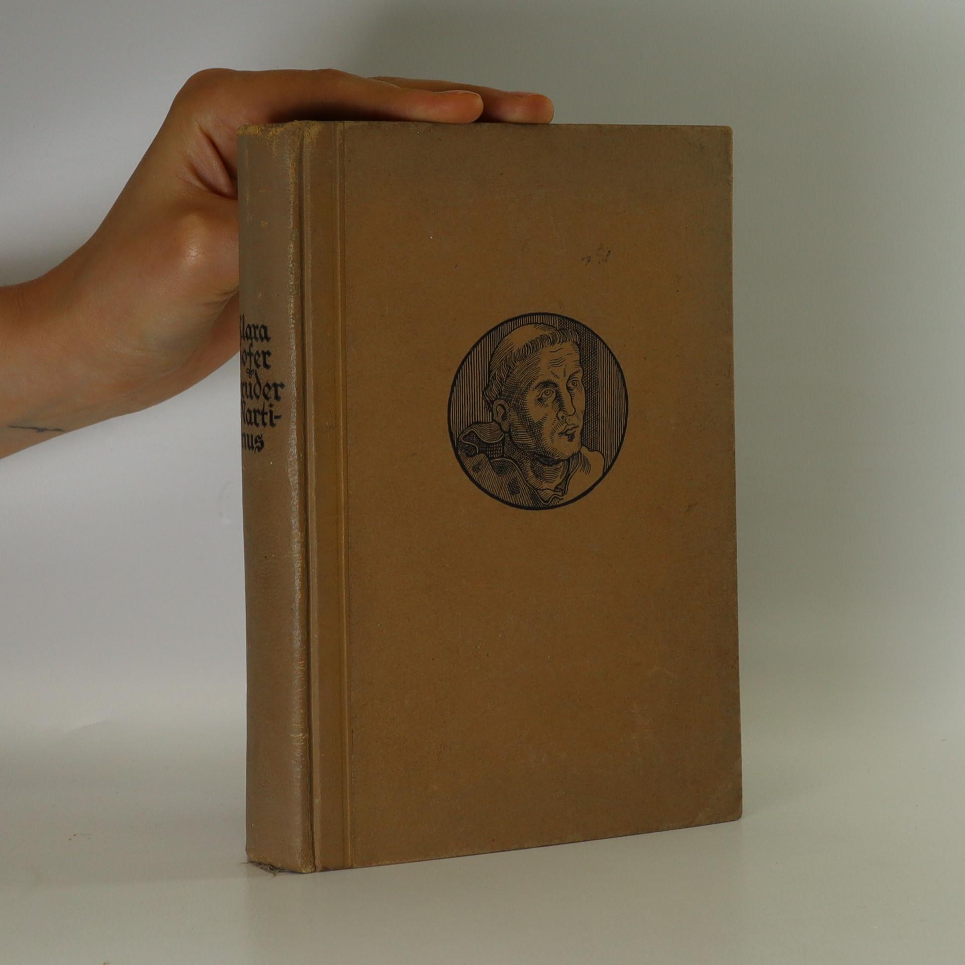 antikvární kniha Bruder Martinus. Ein Buch vom deutschen Gewissen, neuveden