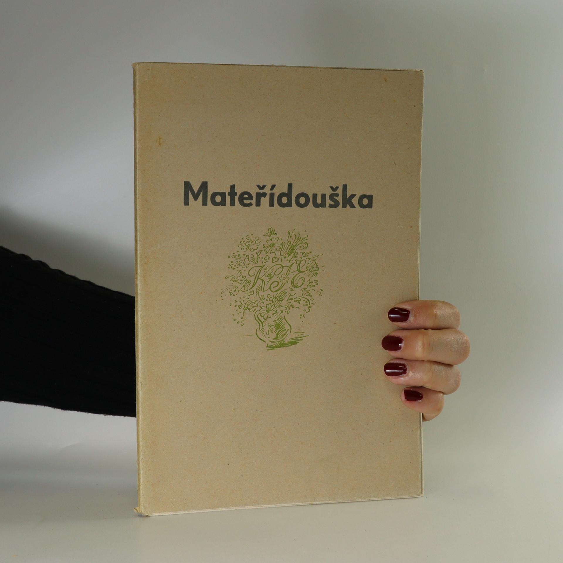 antikvární kniha Mateřídouška, 1946
