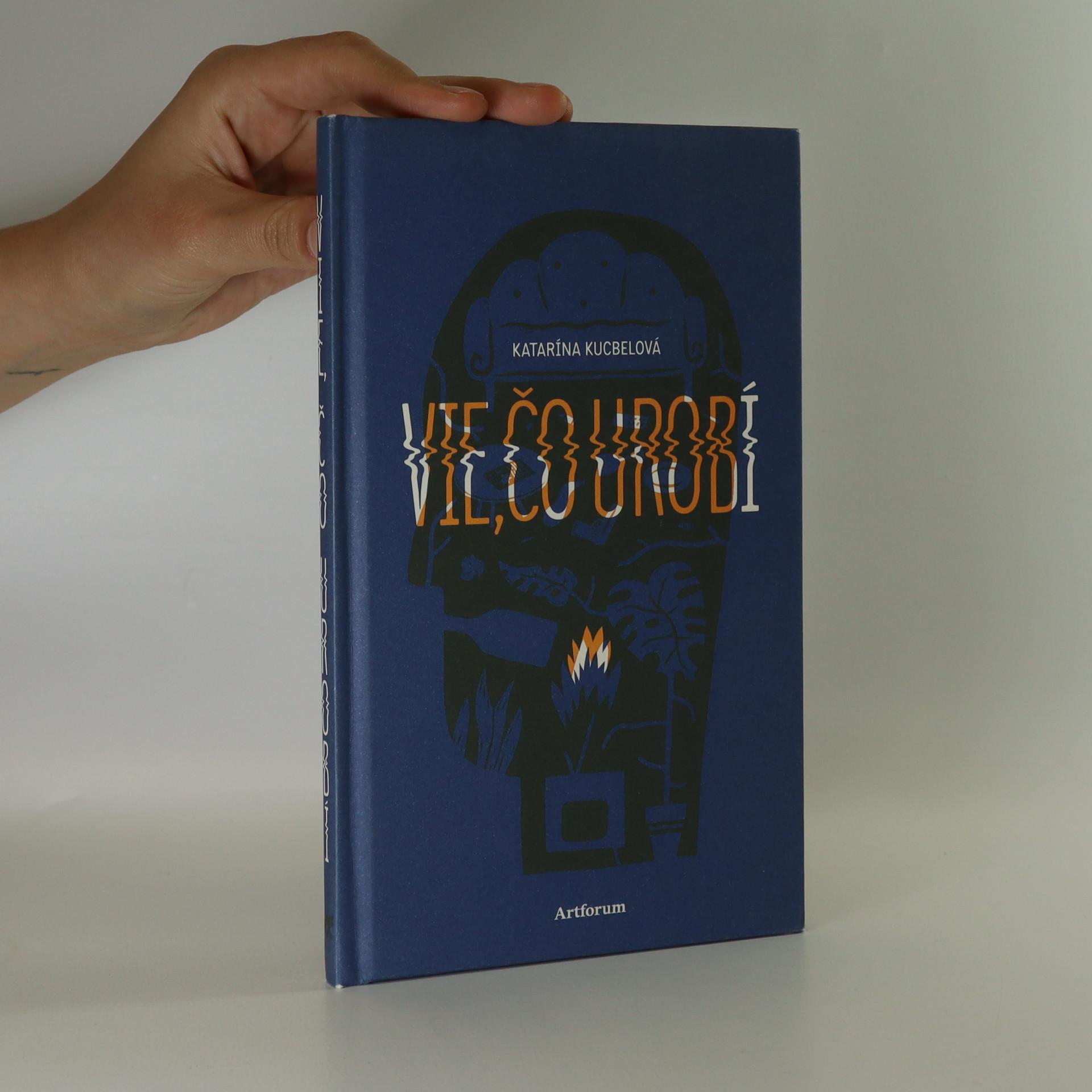 antikvární kniha Vie, čo urobí, 2013