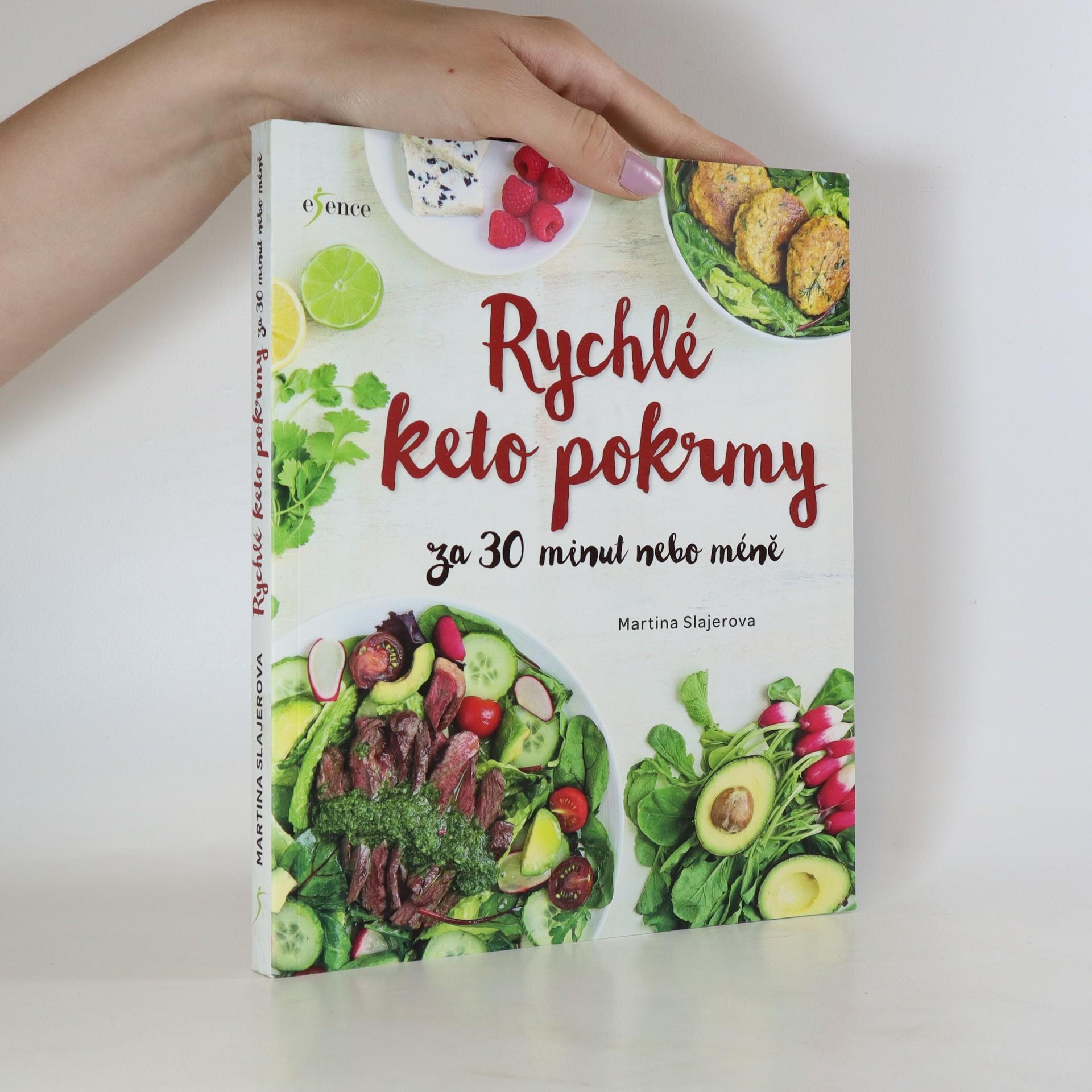 antikvární kniha Rychlé keto pokrmy za 30 minut nebo méně, 2019